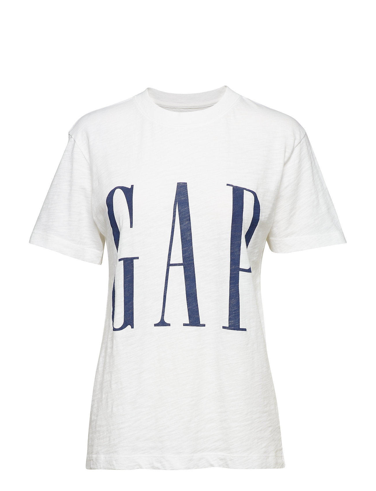 GAP Oversized Logo Graphic Short Sleeve Crewneck T-Shirt - WHITE000