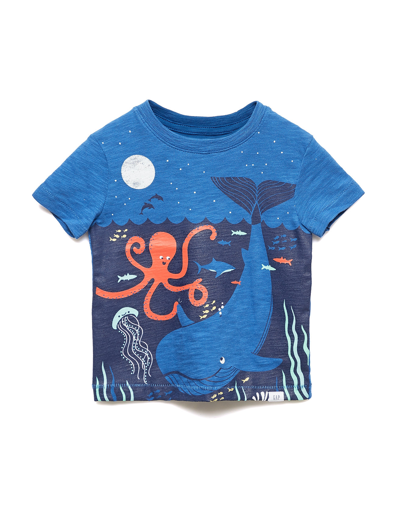 GAP Toddler Graphic Short Sleeve T-Shirt - BALTIC BLUE