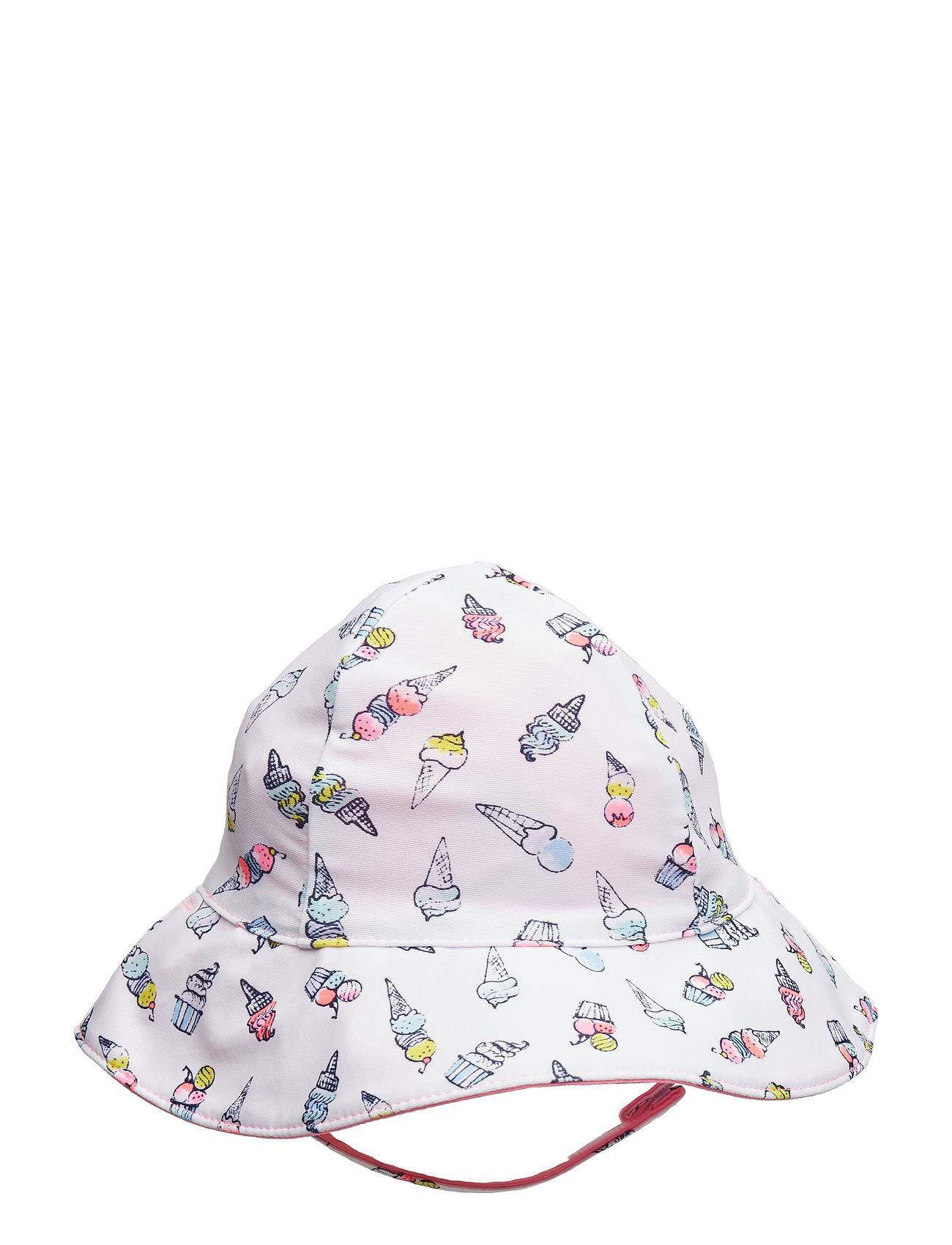 ed5ee4c3e8f GAP solhatte – Swim Rev Hat til børn i OPTIC WHITE - Pashion.dk