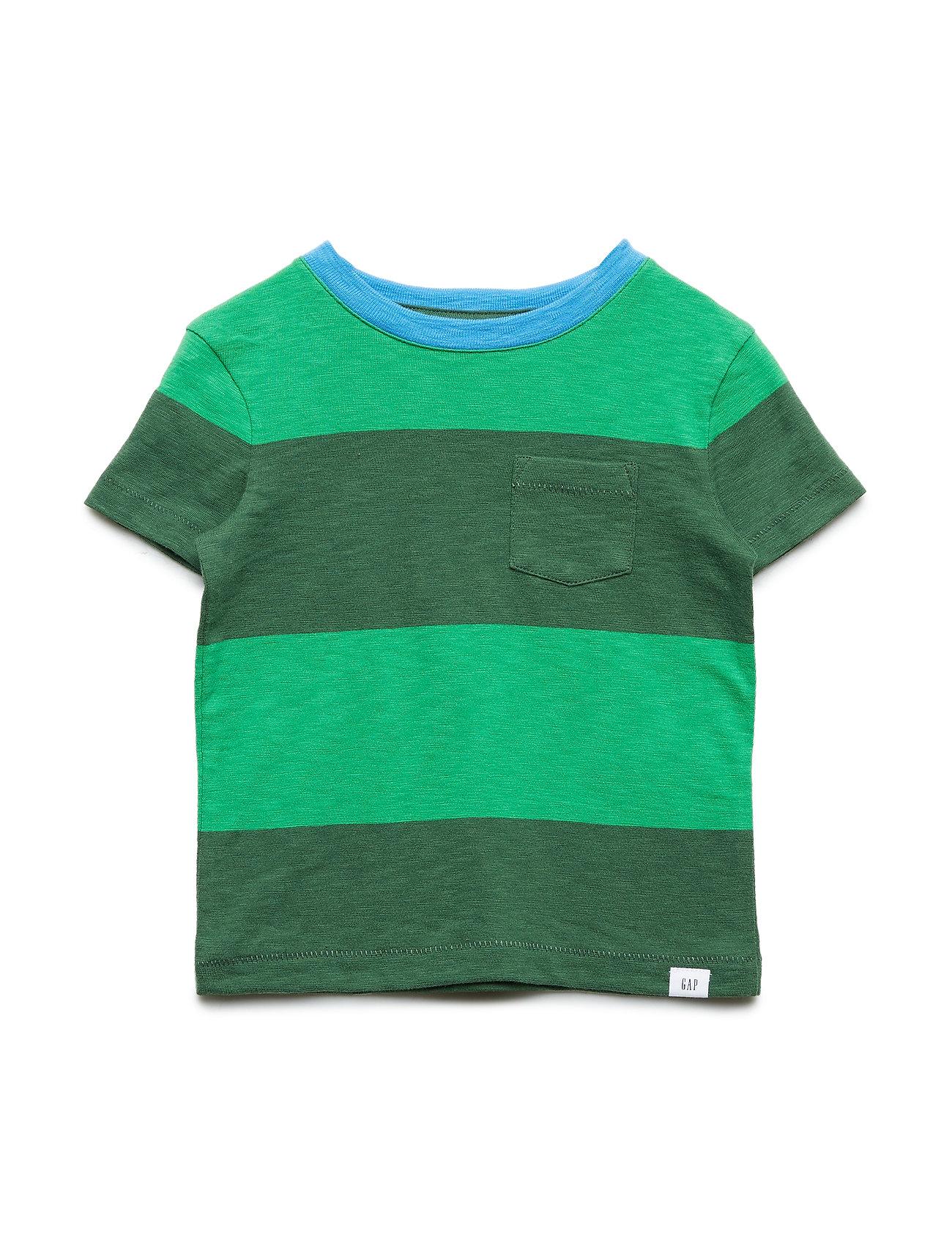 GAP Toddler Stripe Short Sleeve T-Shirt - GREEN GABLES