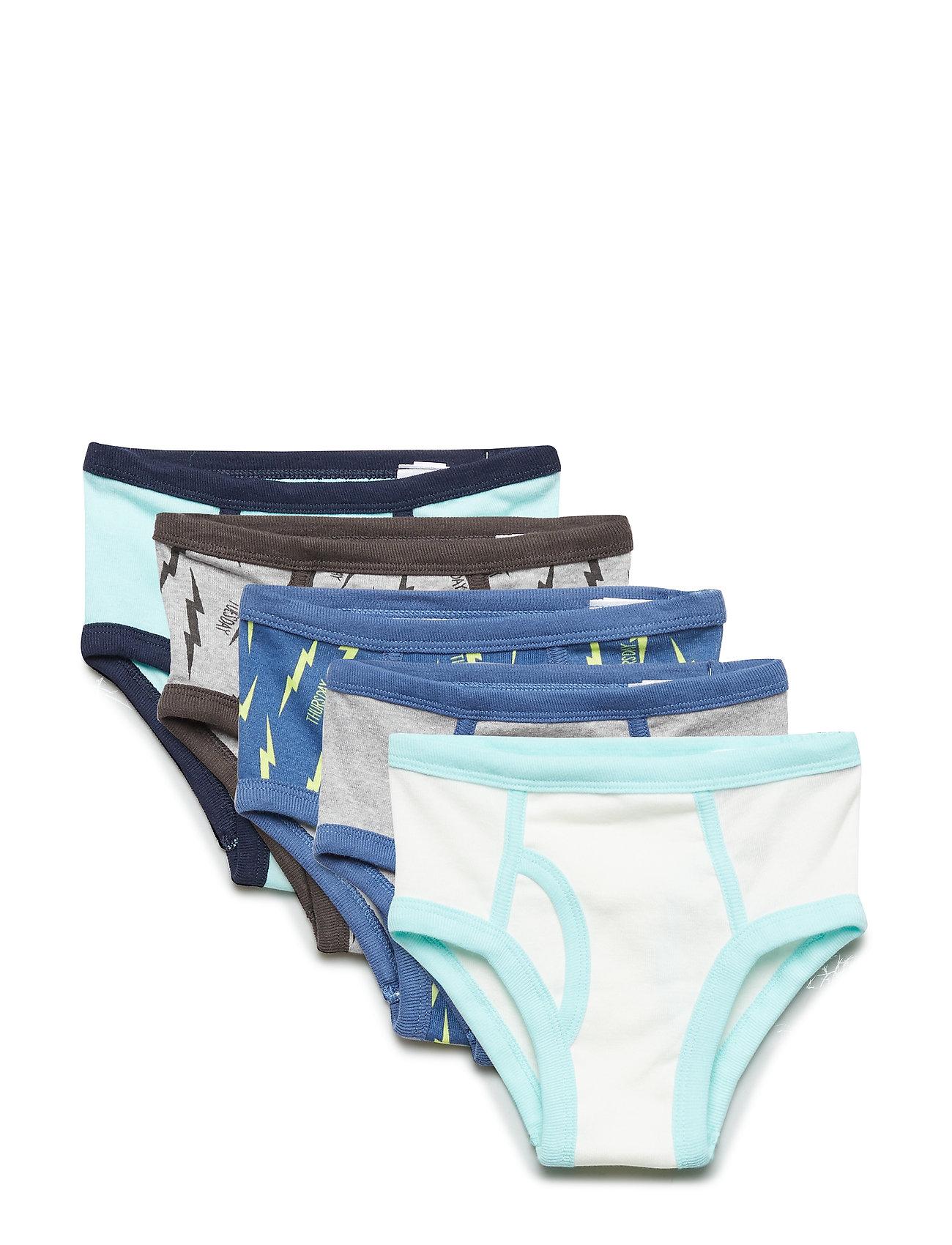 GAP Toddler Dino Days-of-the-Week Bikinis (7-Pack) - MULTI