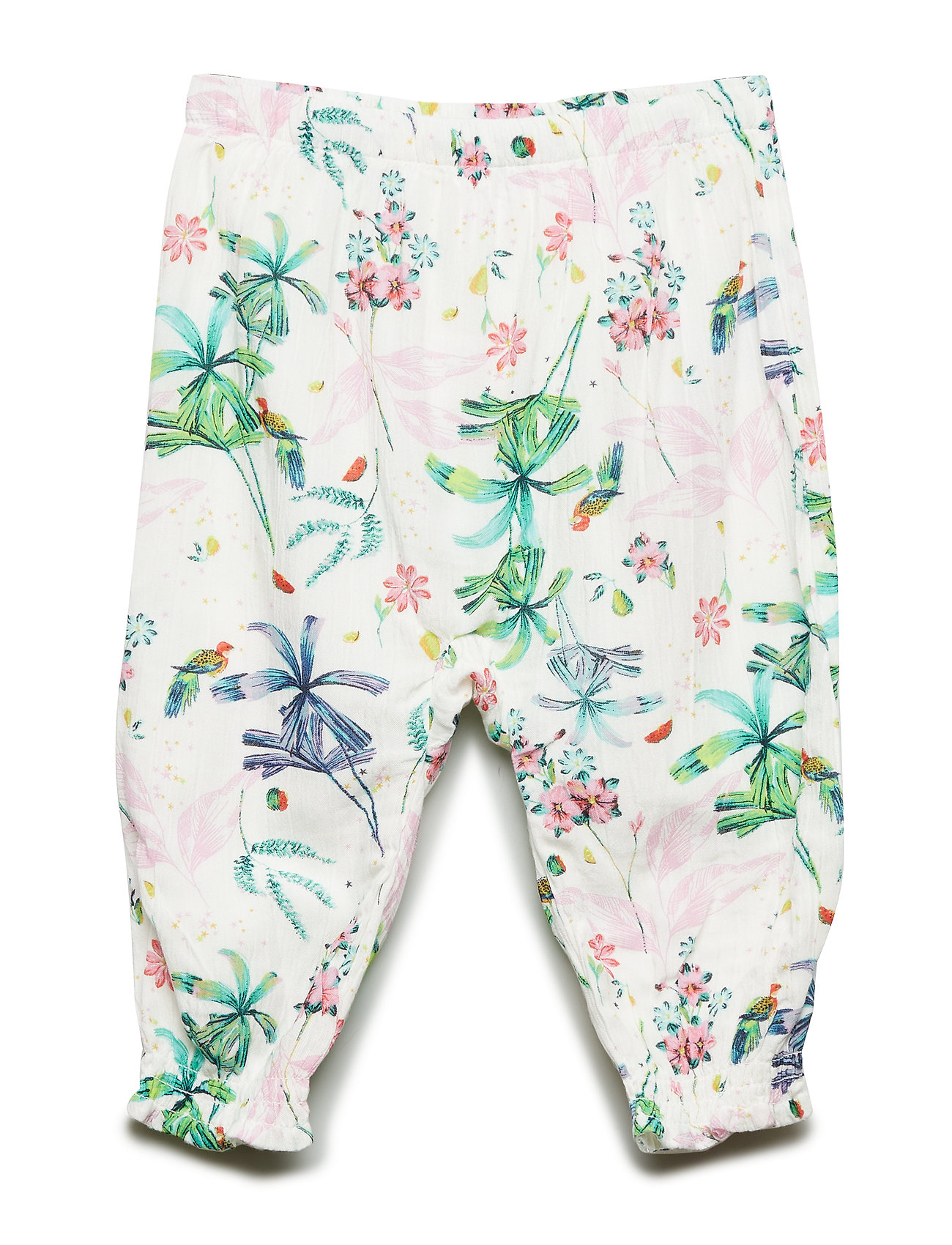 GAP Baby Print Crinkle-Weave Pants - NEW OFF WHITE FLORAL