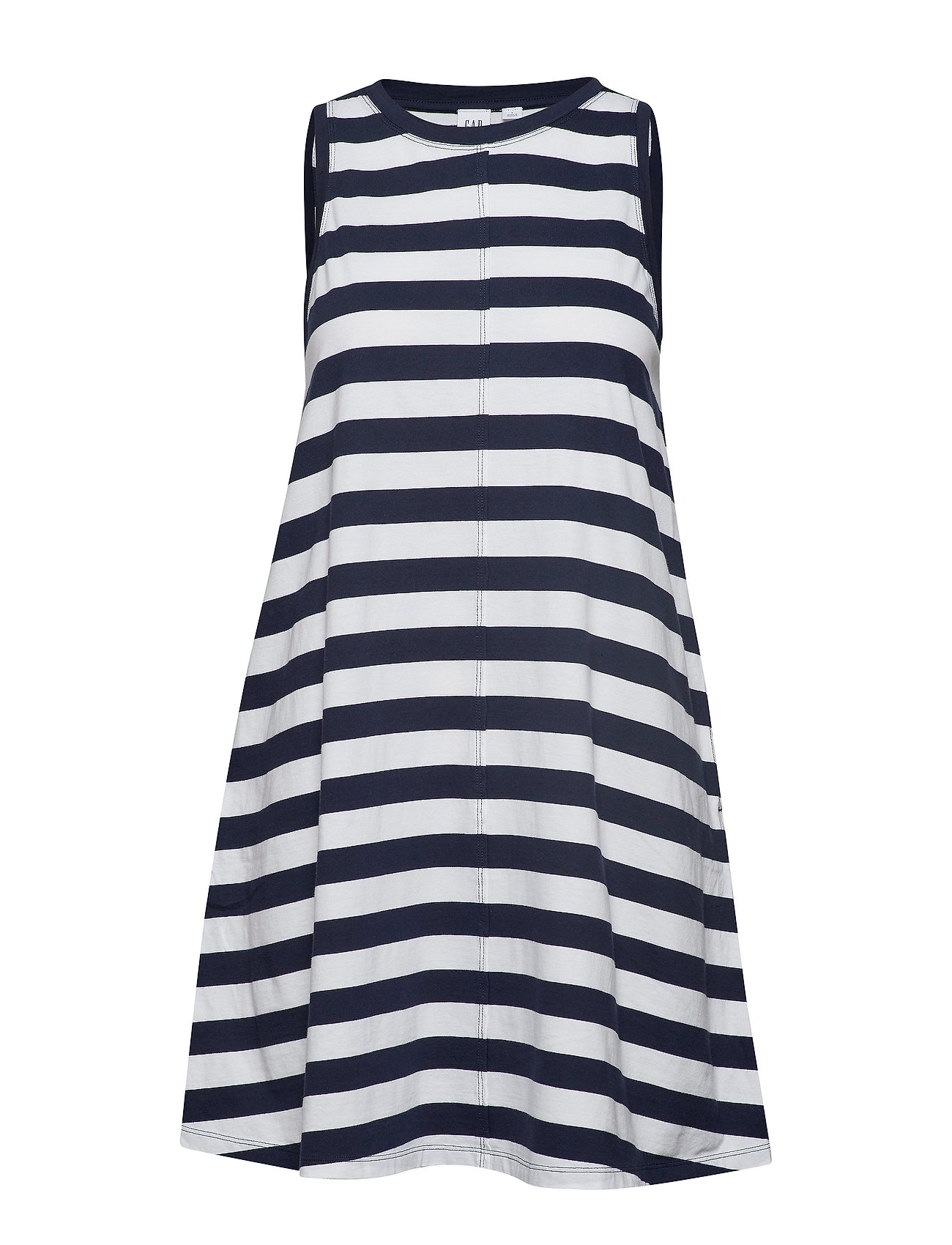Image of Sleeveless Swing Dress Knælang Kjole Blå GAP (3186400829)