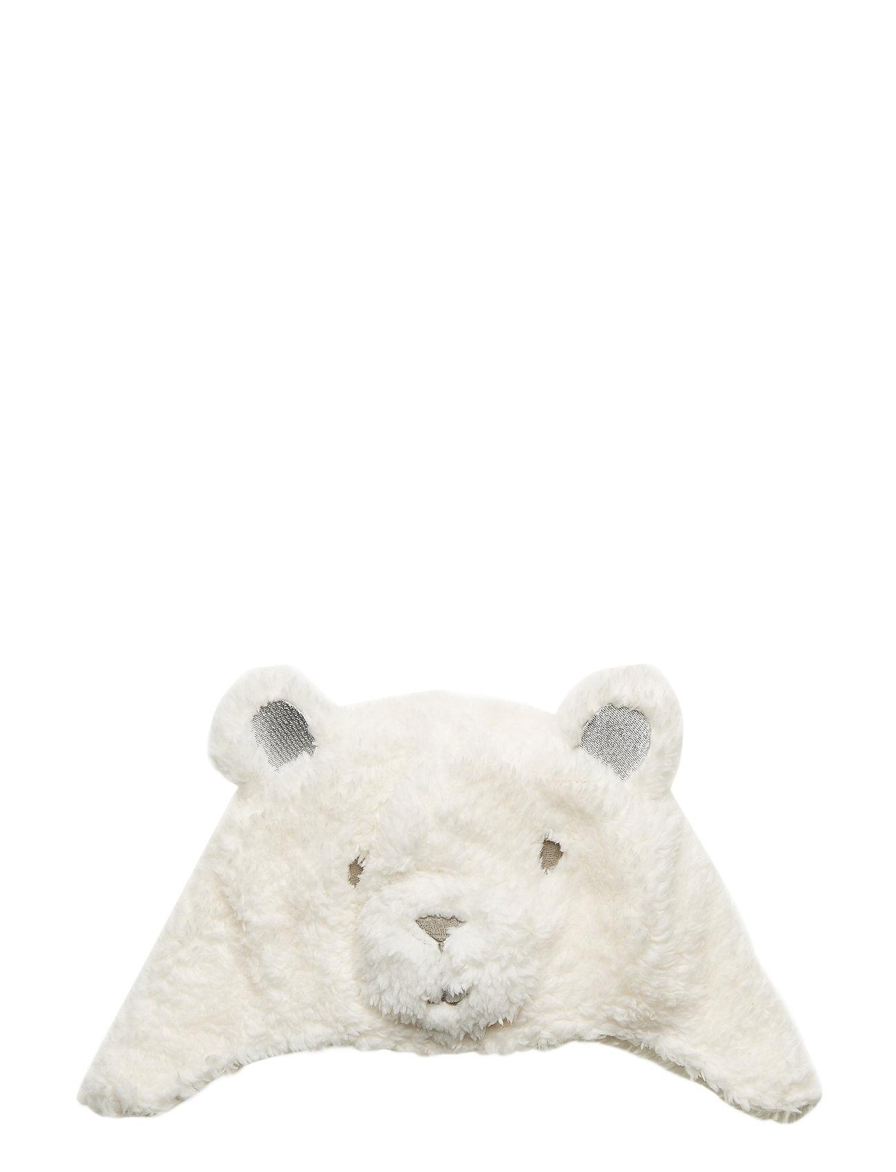 GAP Toddler Polar Bear Trapper Hat - IVORY FROST