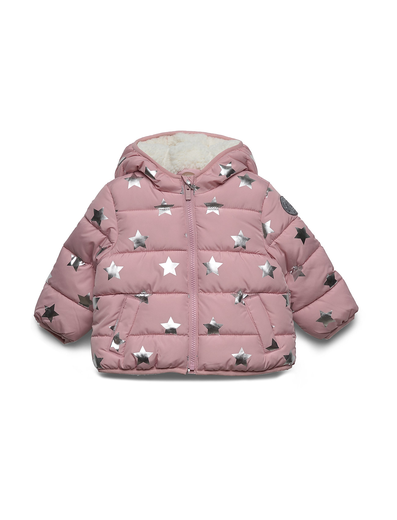 GAP Toddler ColdControl Max Puffer - PINK STARS