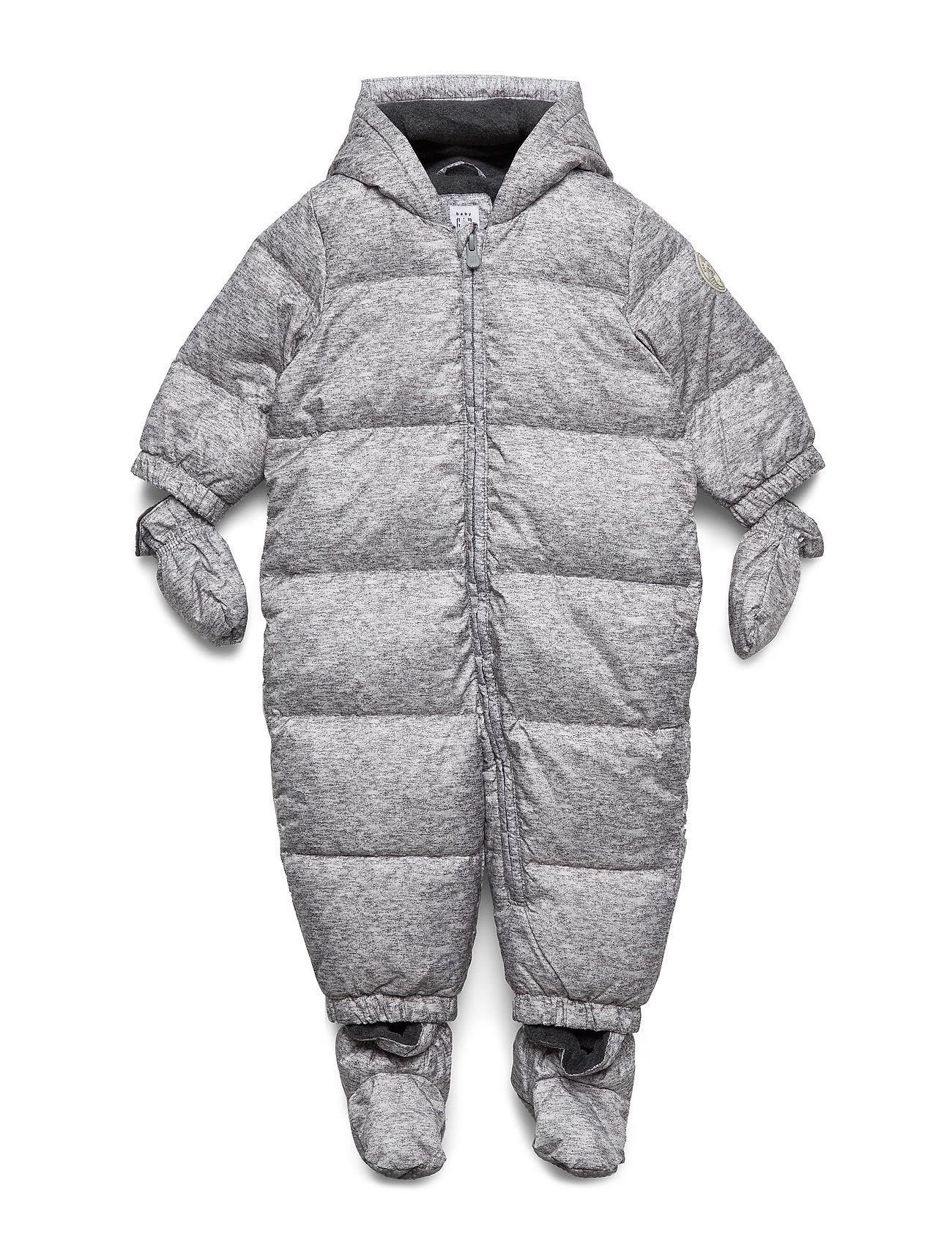 GAP Baby ColdControl Ultra Max Down Snowsuit - FLINT GREY