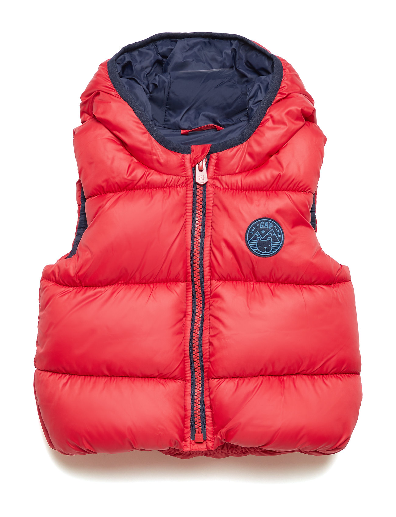 GAP WARMEST VEST - MODERN RED 2