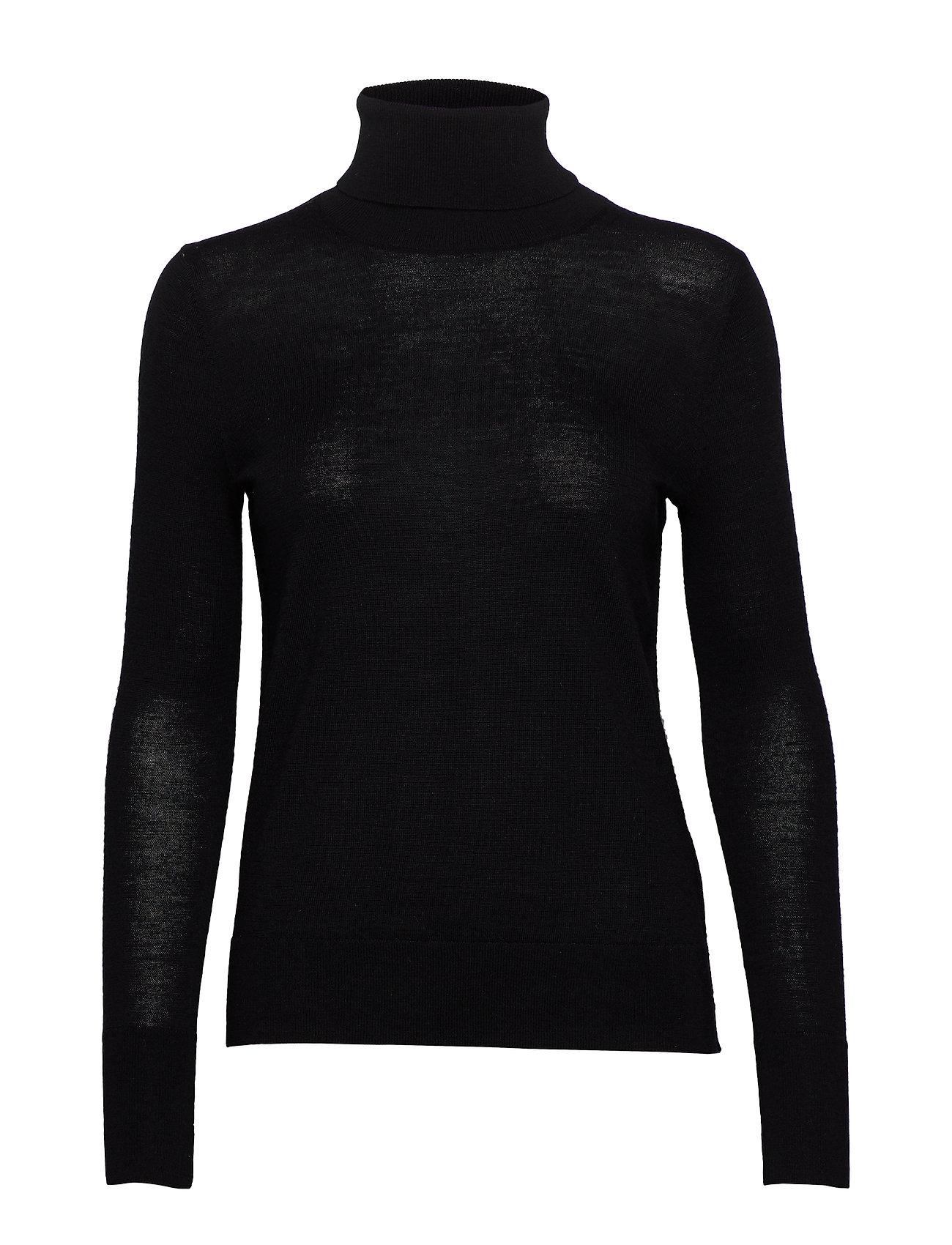 GAP Turtleneck Sweater in Merino Wool - TRUE BLACK