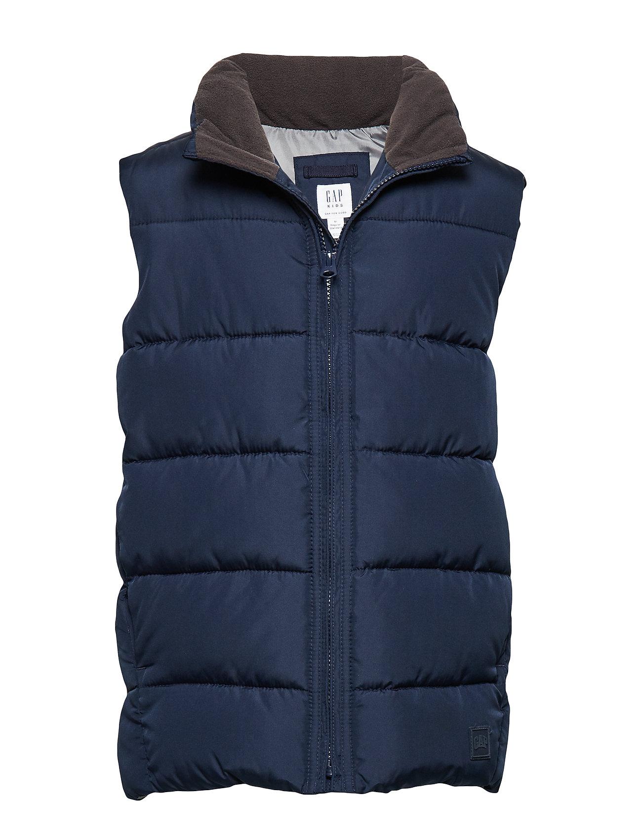 GAP Kids ColdControl Max Puffer Vest - TAPESTRY NAVY