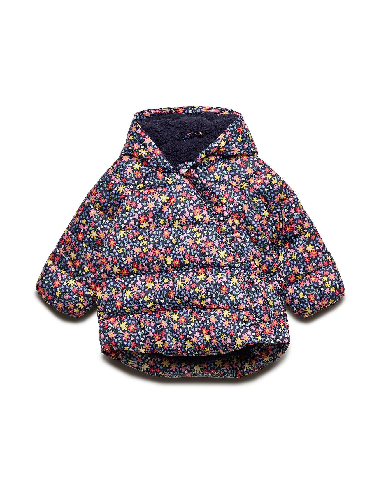 GAP Baby ColdControl Max Kimono Jacket - NAVY FLORAL