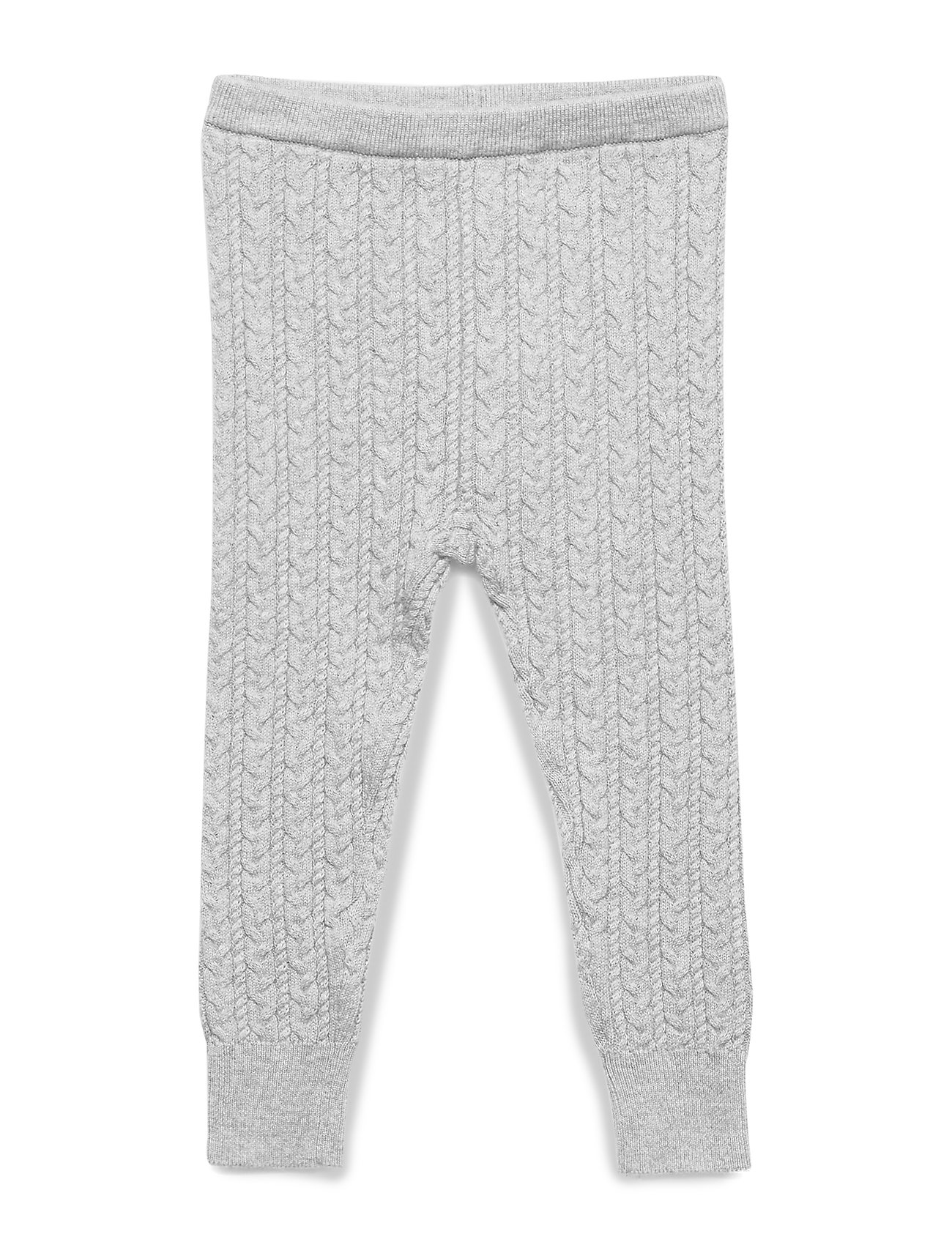 GAP Baby Cable-Knit Sweater Leggings - B10 GREY HEATHER