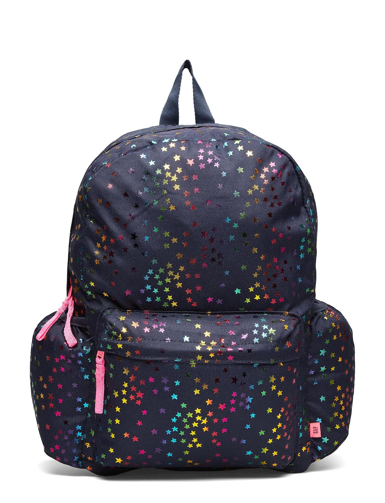 GAP Kids Foil Star Senior Backpack - NAVY UNIFORM