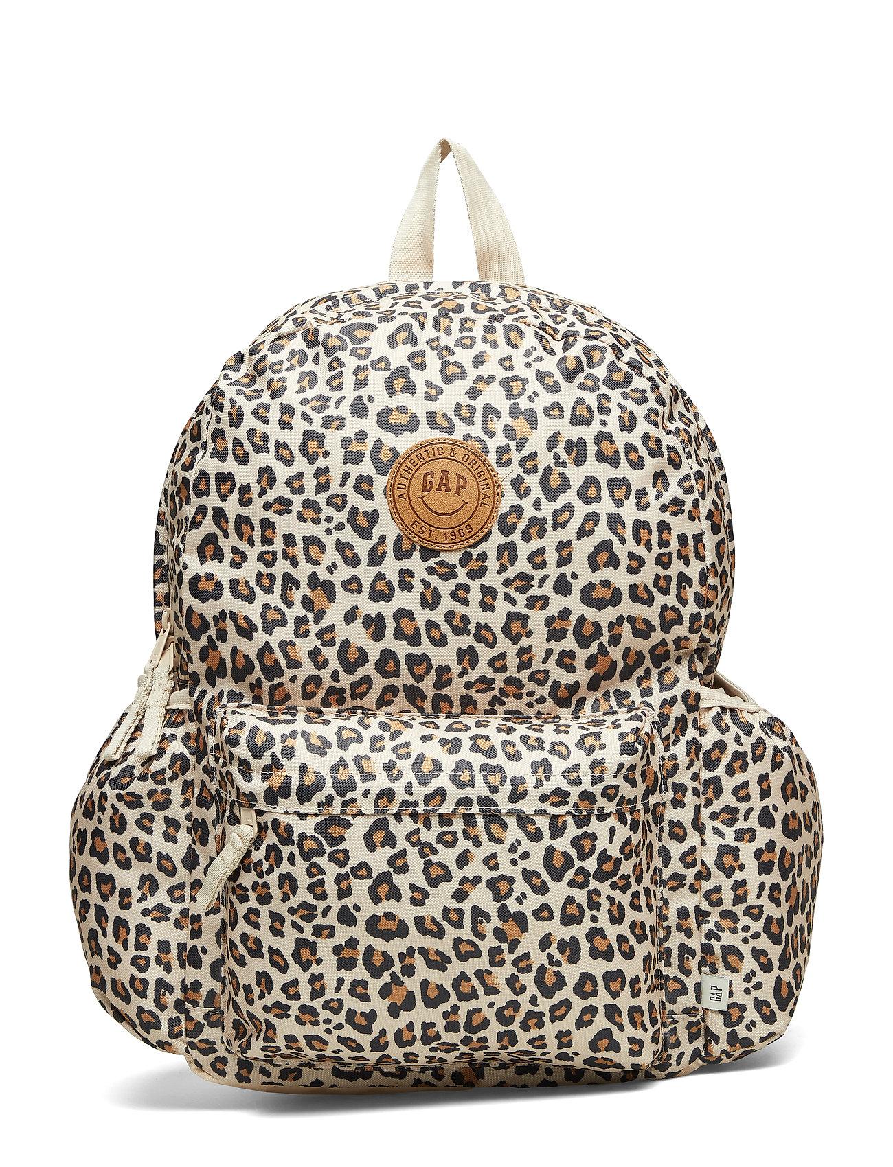 GAP Kids Leopard Senior Backpack - LEOPARD PRINT