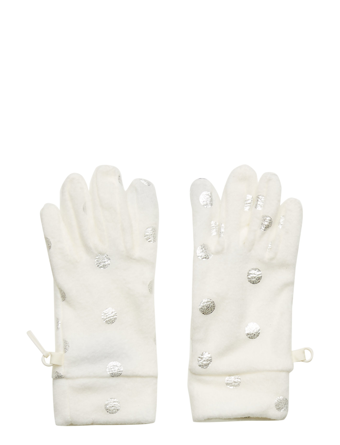 GAP Kids Fleece Dot Gloves - IVORY FROST