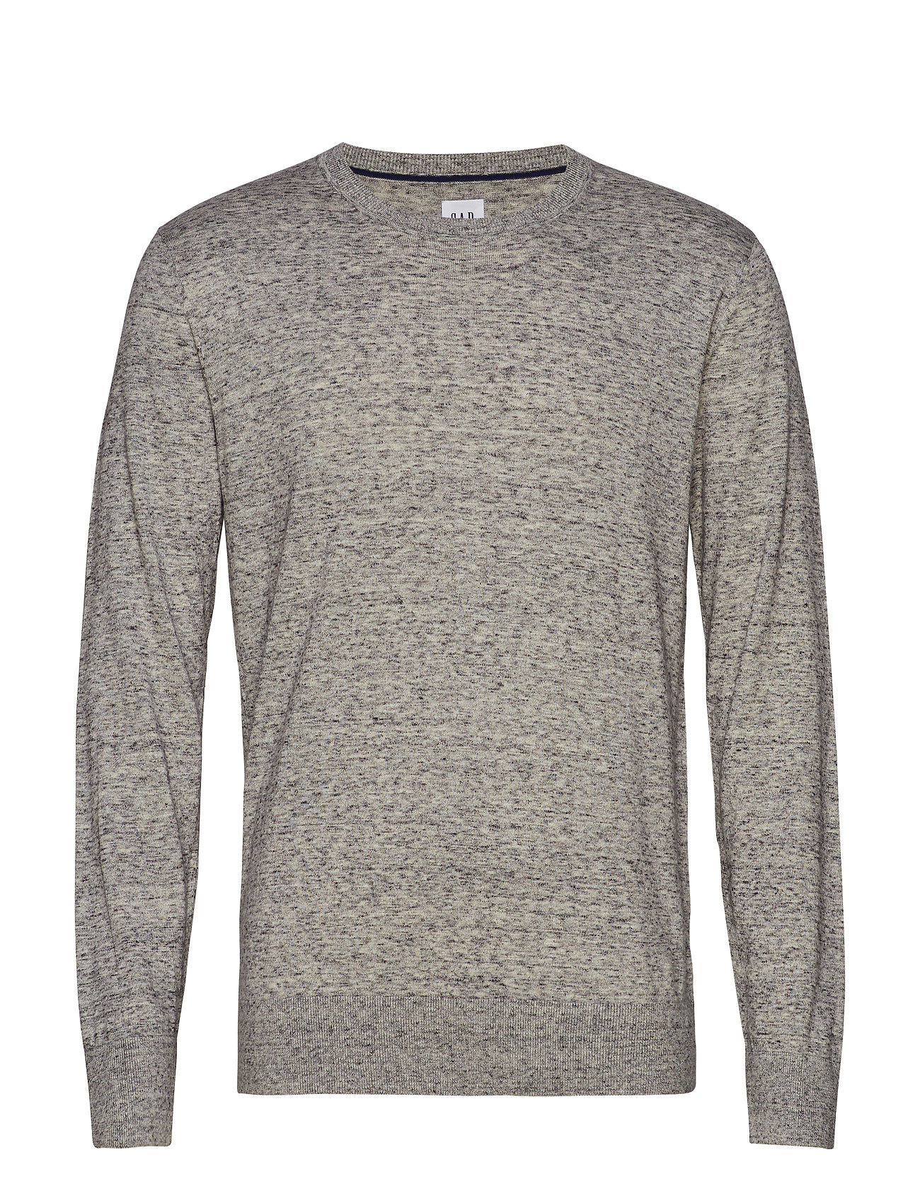 GAP Mainstay Crewneck Sweater - HEATHER GREY