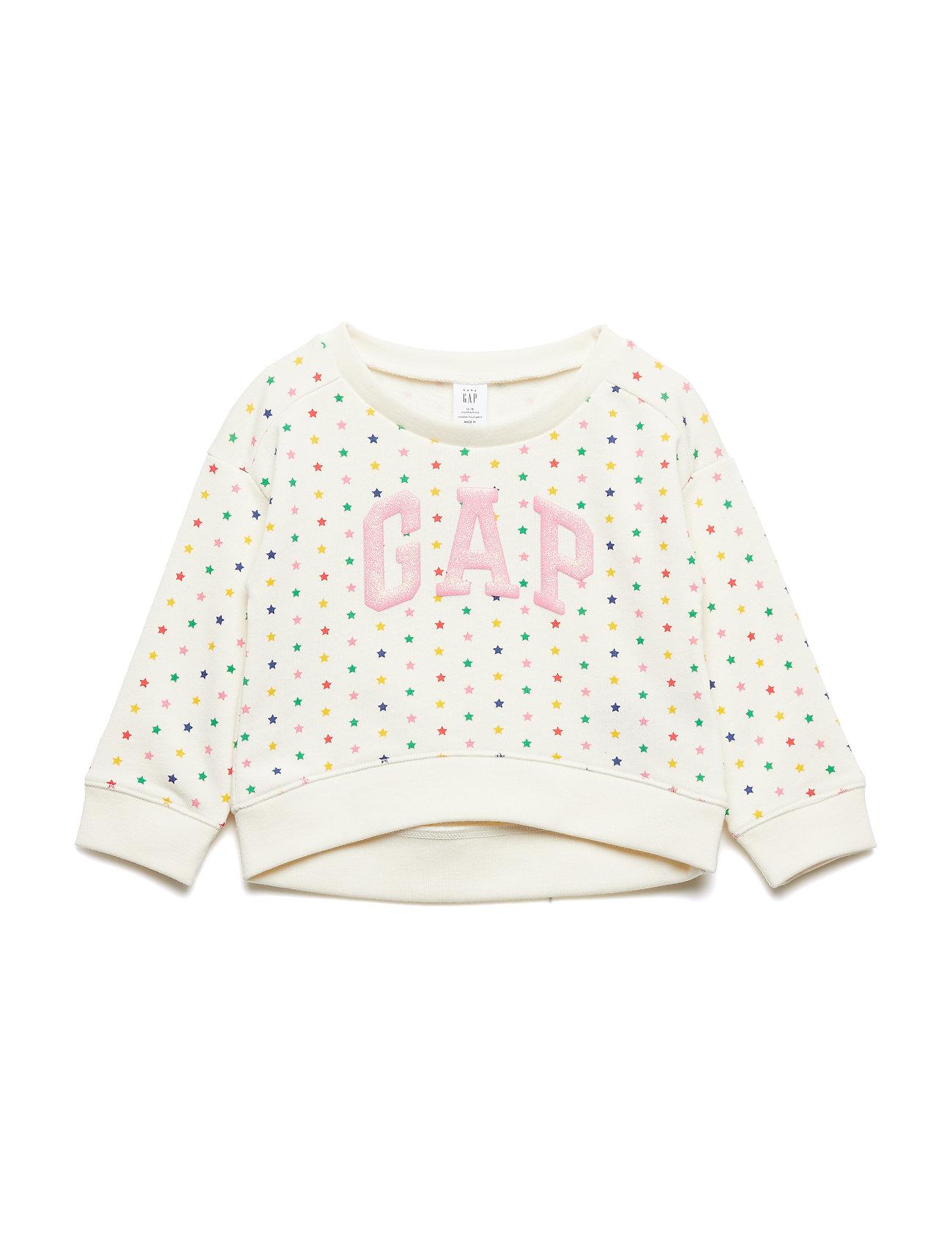GAP Toddler Gap Logo Print Sweatshirt - MULTI STARS