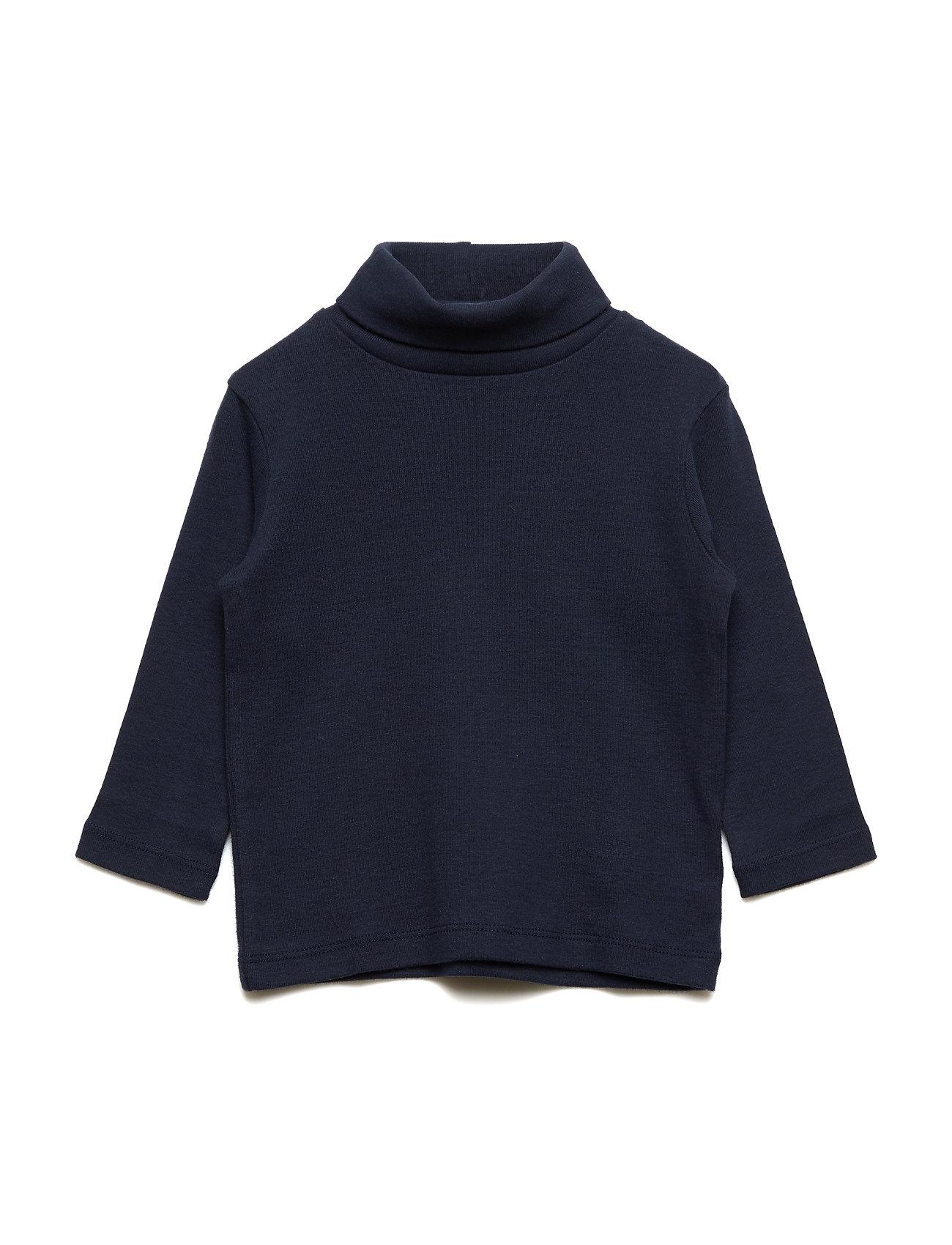 GAP Toddler Long Sleeve Turtleneck - BLUE GALAXY