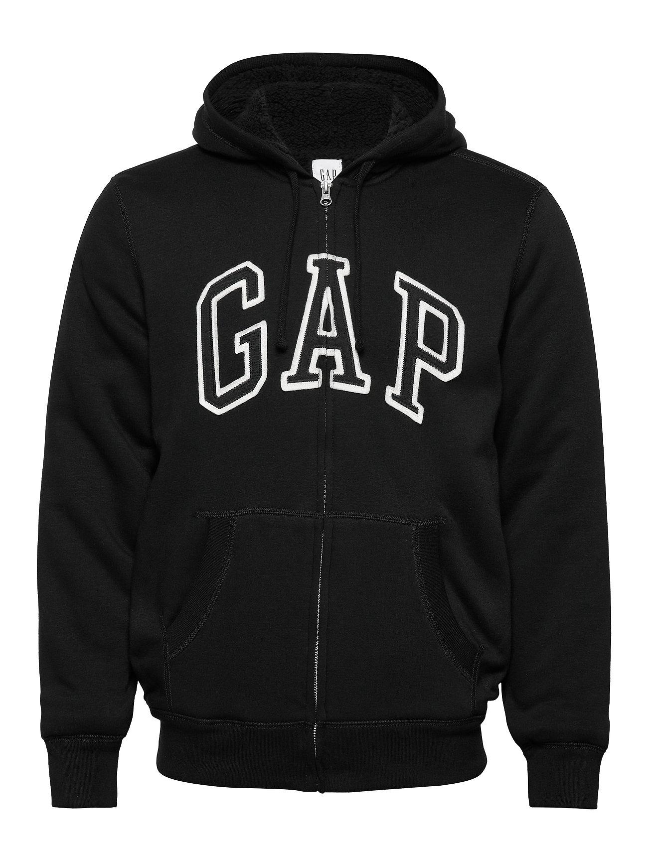 GAP V-ARCH SHERPA FZ - TRUE BLACK