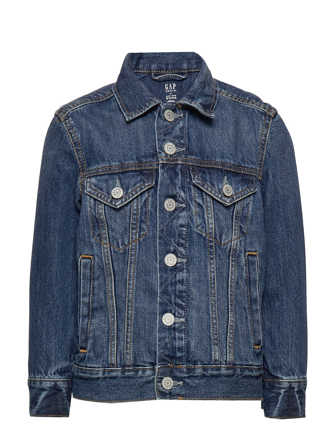 GAP Kids Denim Icon Jacket - MEDIUM WASH