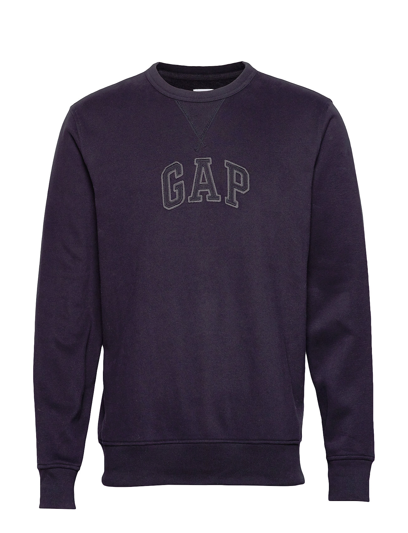 GAP Gap Logo Crewneck Sweatshirt - TRUE BLACK V2 2
