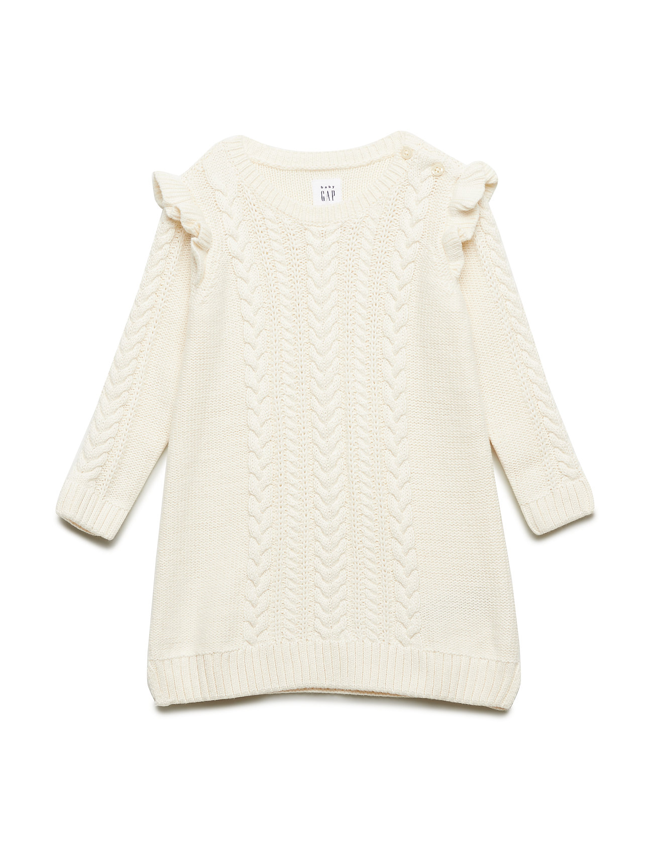 GAP CABLE SWTR DRS - IVORY FROST
