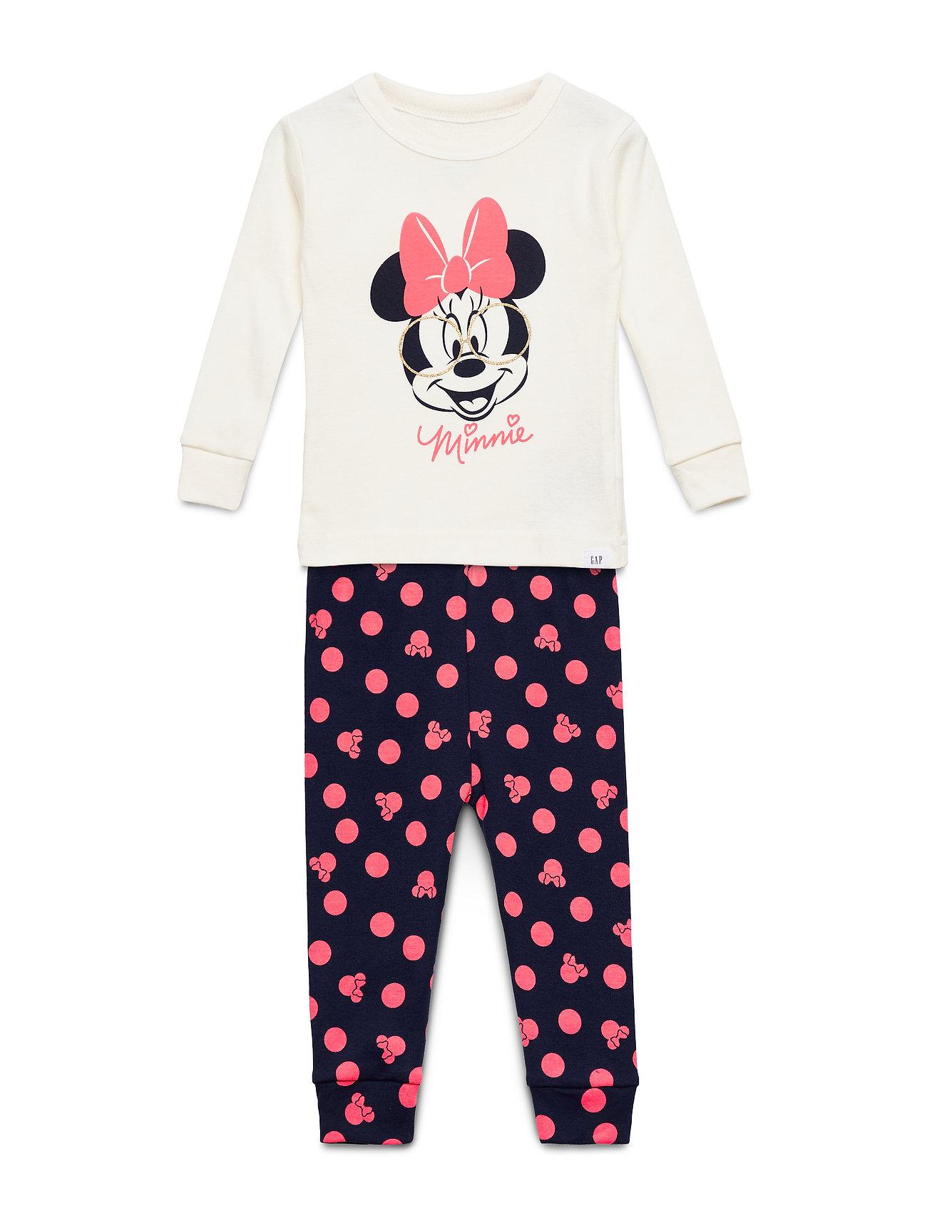 GAP babyGap | Disney Minnie Mouse PJ Set - SNOWFLAKE MILK