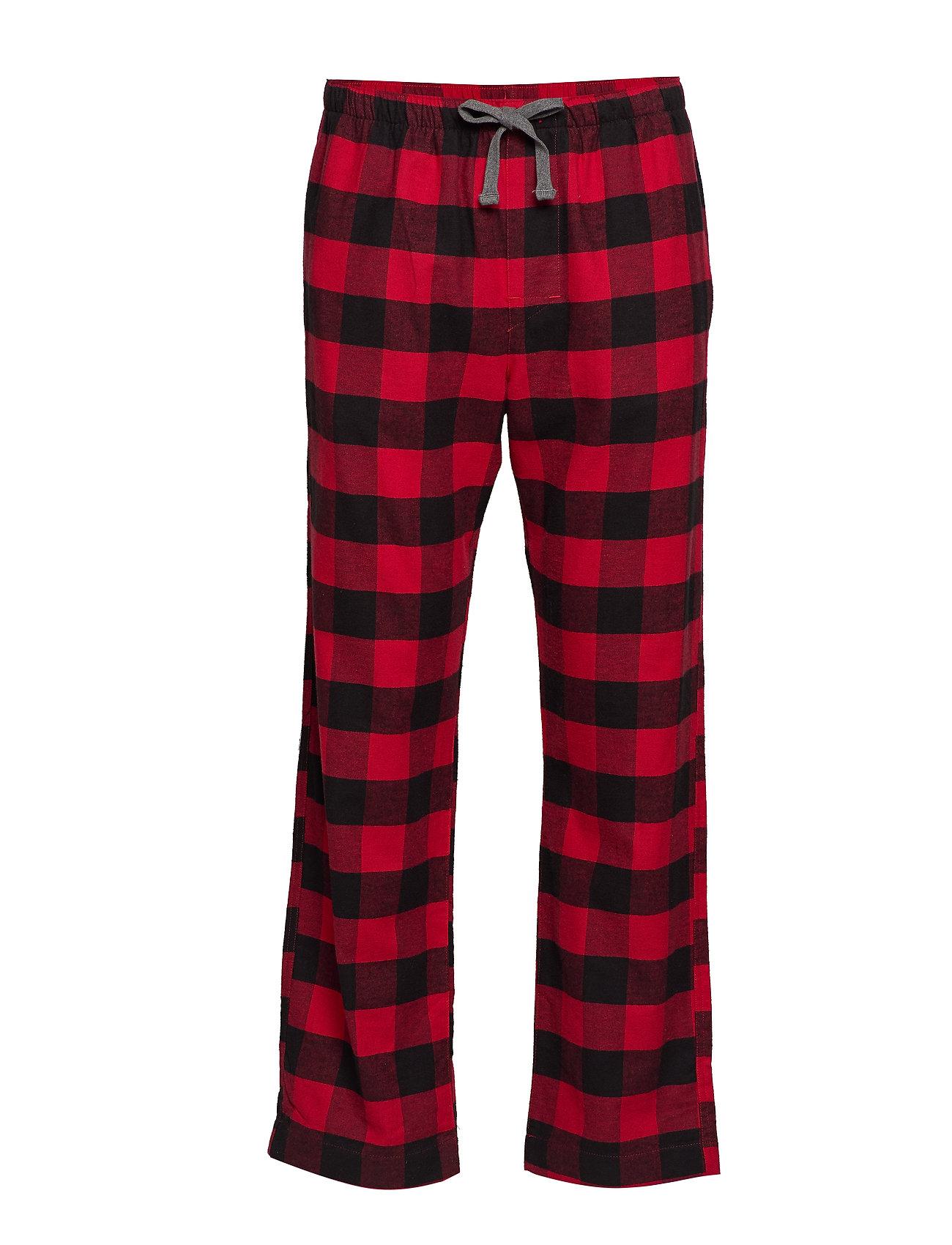 Image of Flannel Pajama Pants Hyggebukser Rød GAP (3262246095)