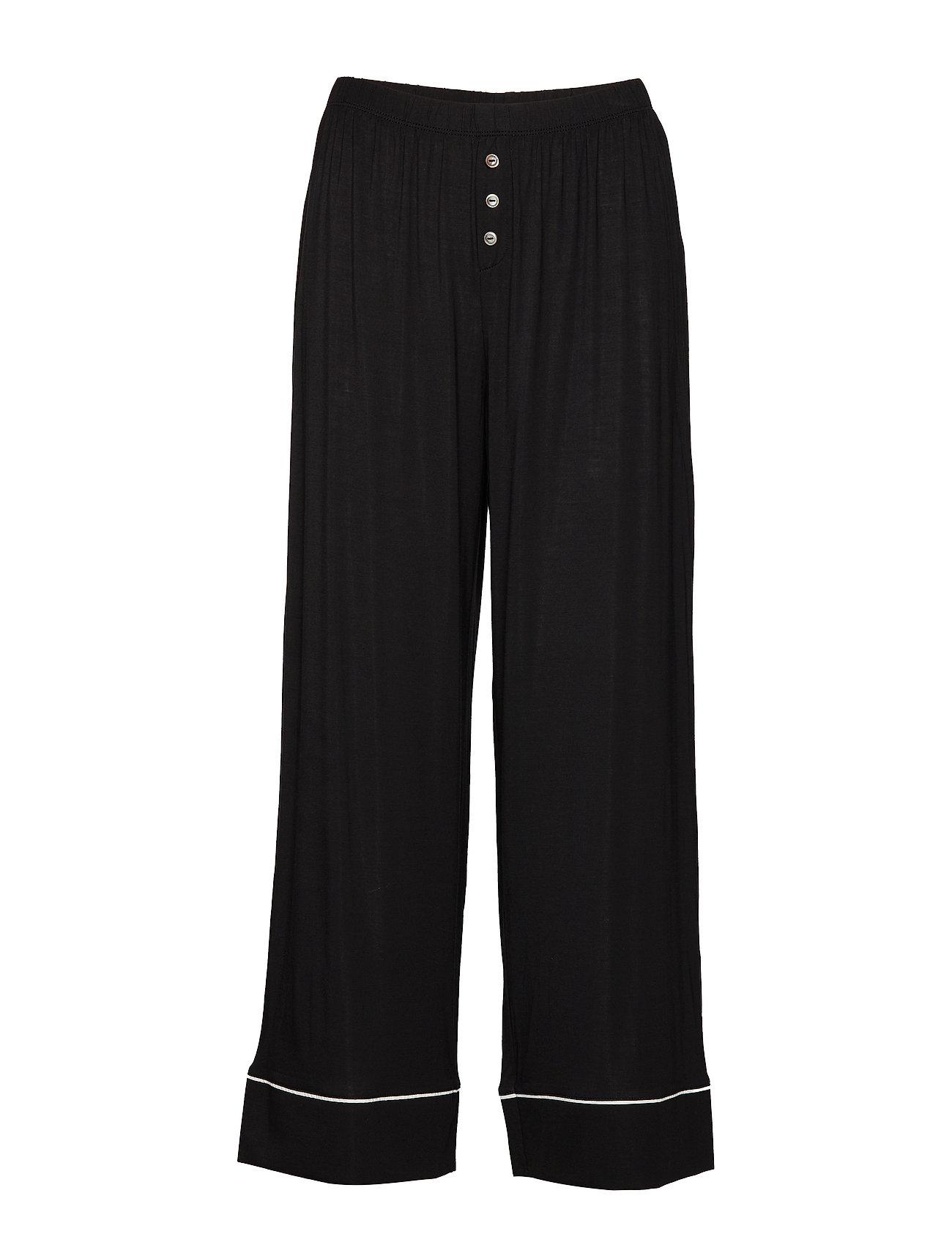 GAP Ankle Flare Pants in Modal - TRUE BLACK