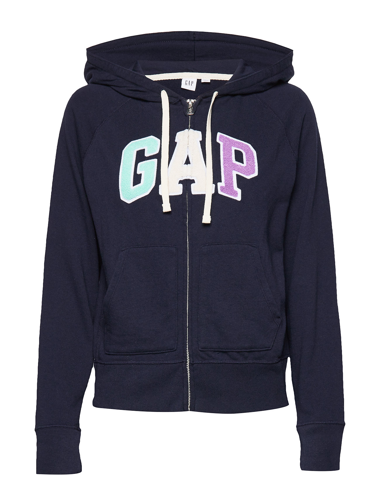 GAP Gap Logo Full-Zip Hoodie - NAVY UNIFORM