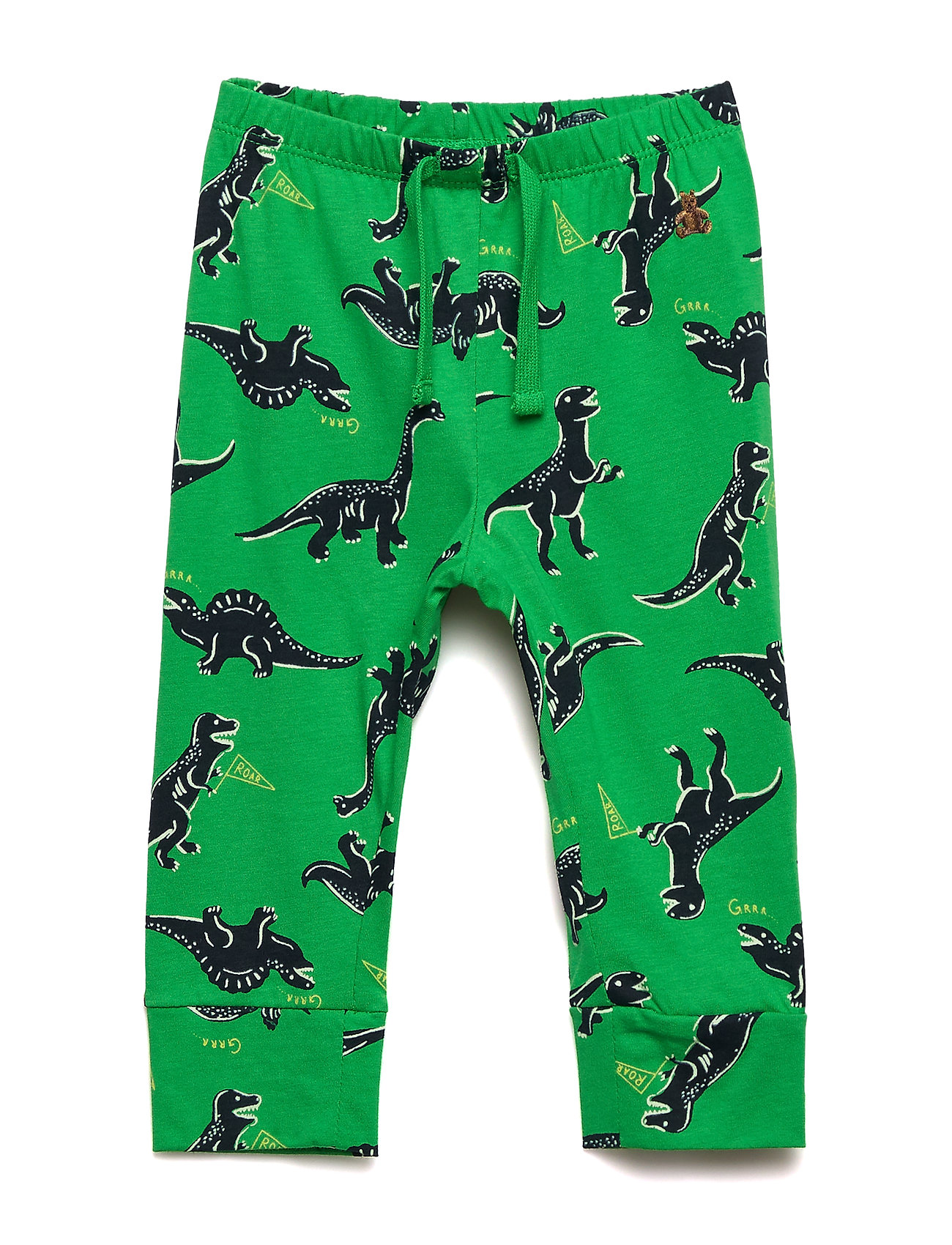 Image of Baby Print Pull-On Pants Bukser Grøn GAP (3230587909)