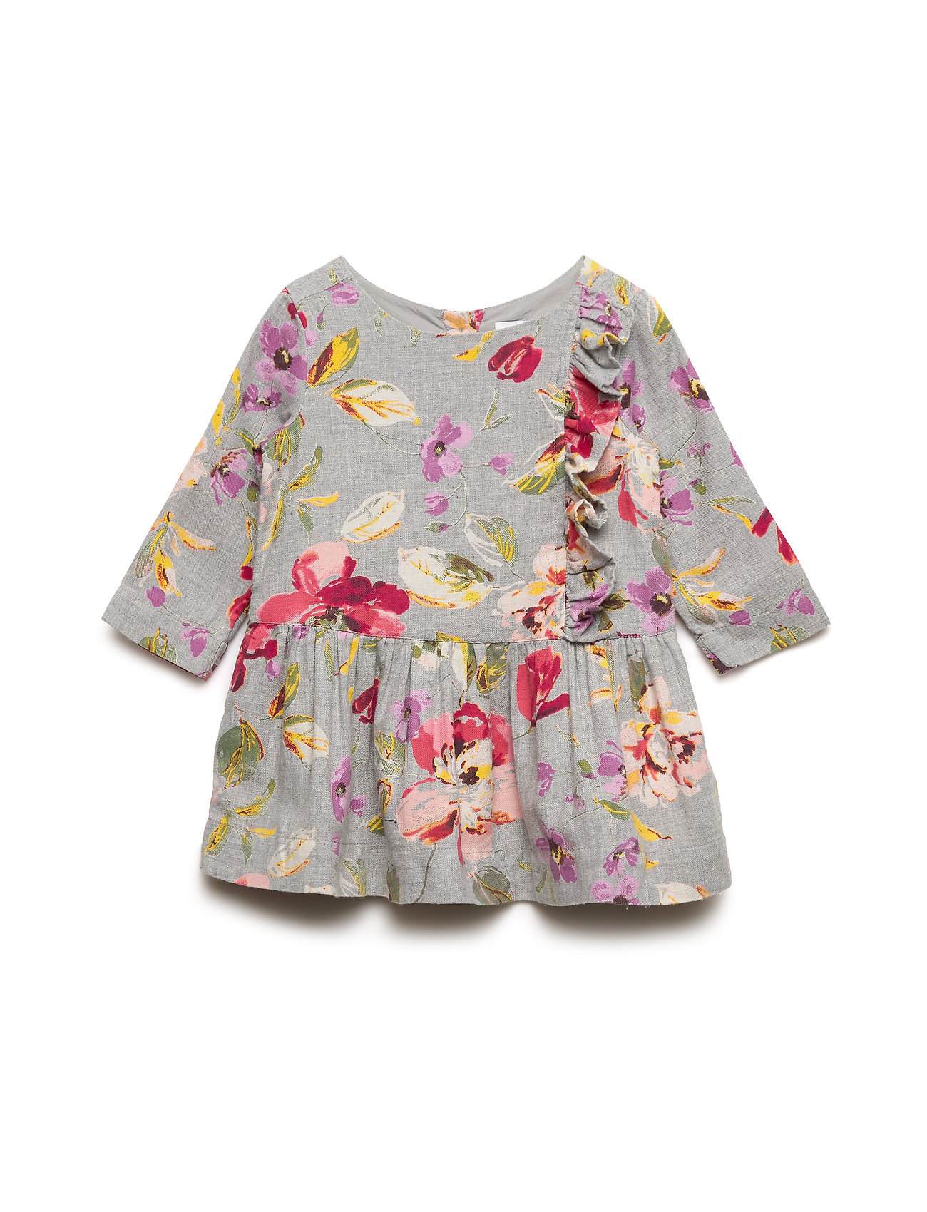 GAP Toddler Floral Drop-Waist Dress - FLORAL PRINT
