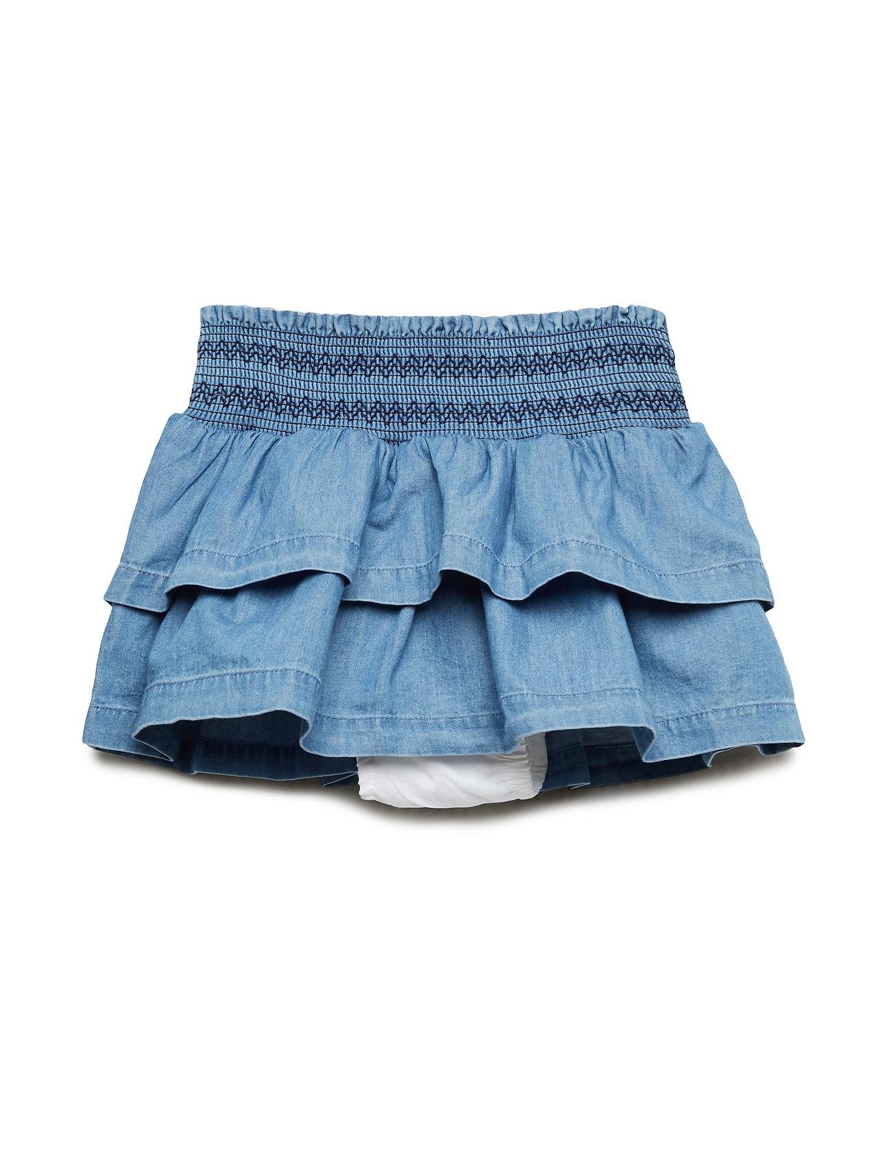 GAP Toddler Chambray Flutter Skirt - CHAMBRAY 042