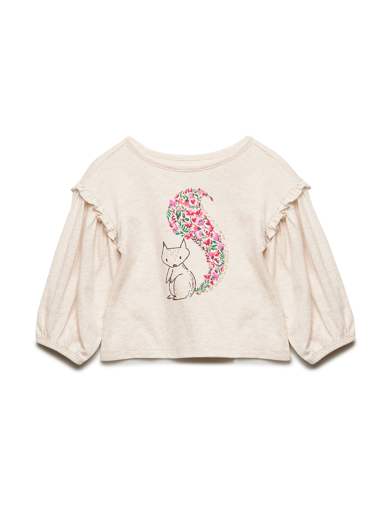 GAP Toddler Ruffle-Sleeve Graphic T-Shirt - B2621
