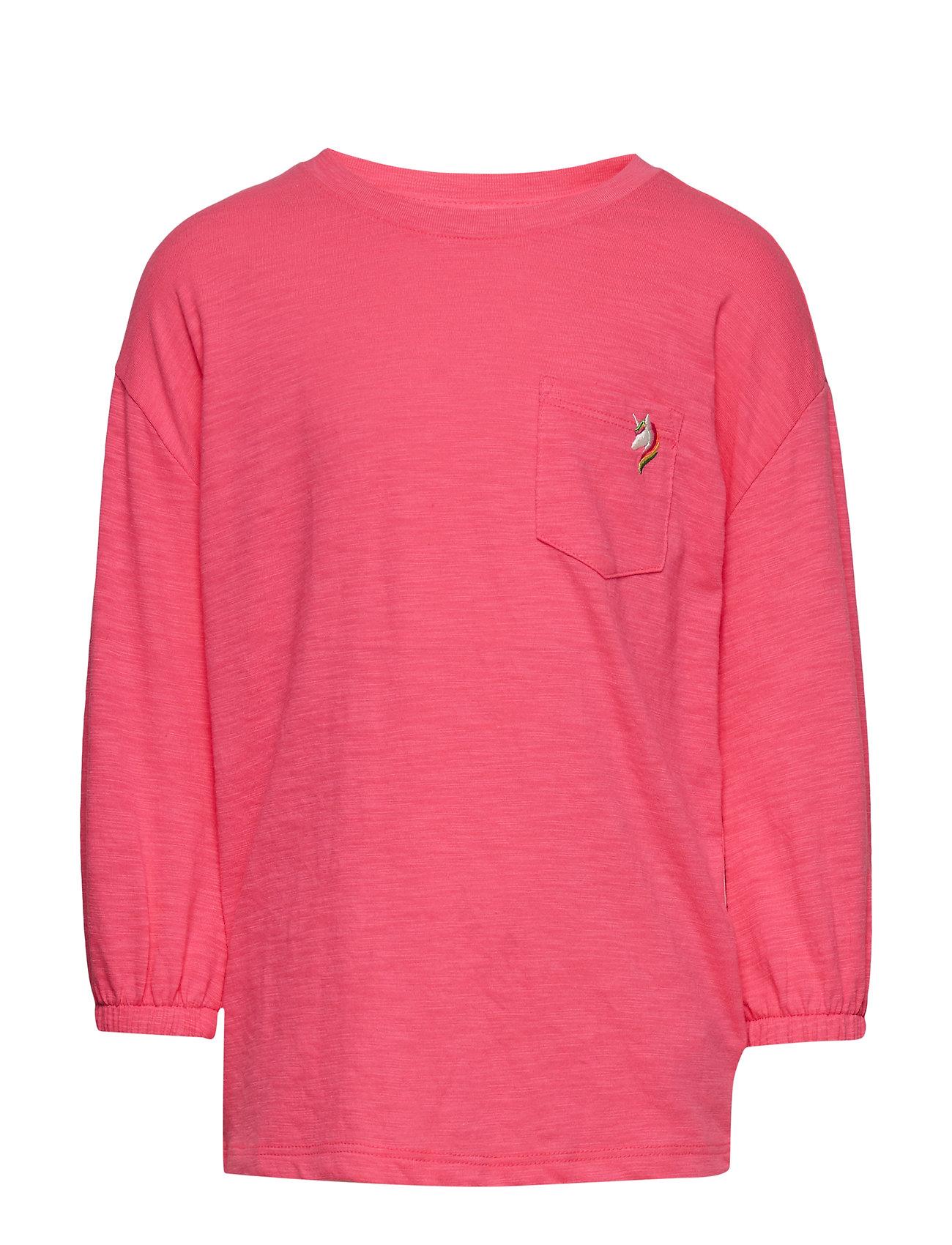 GAP Kids Balloon-Sleeve Pocket T-Shirt - PINK LIGHT