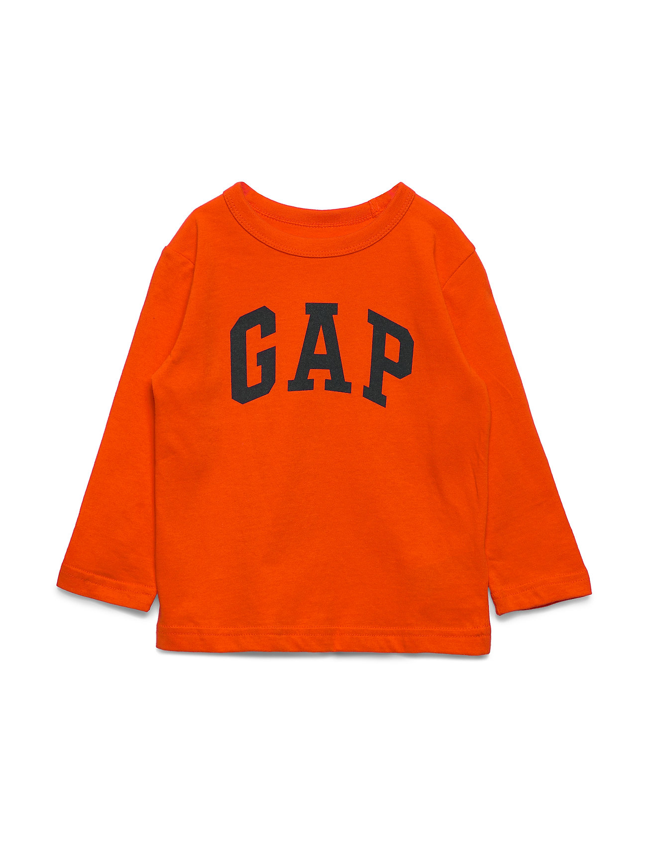 GAP V-PTF LS LOGO T - ORANGE POP