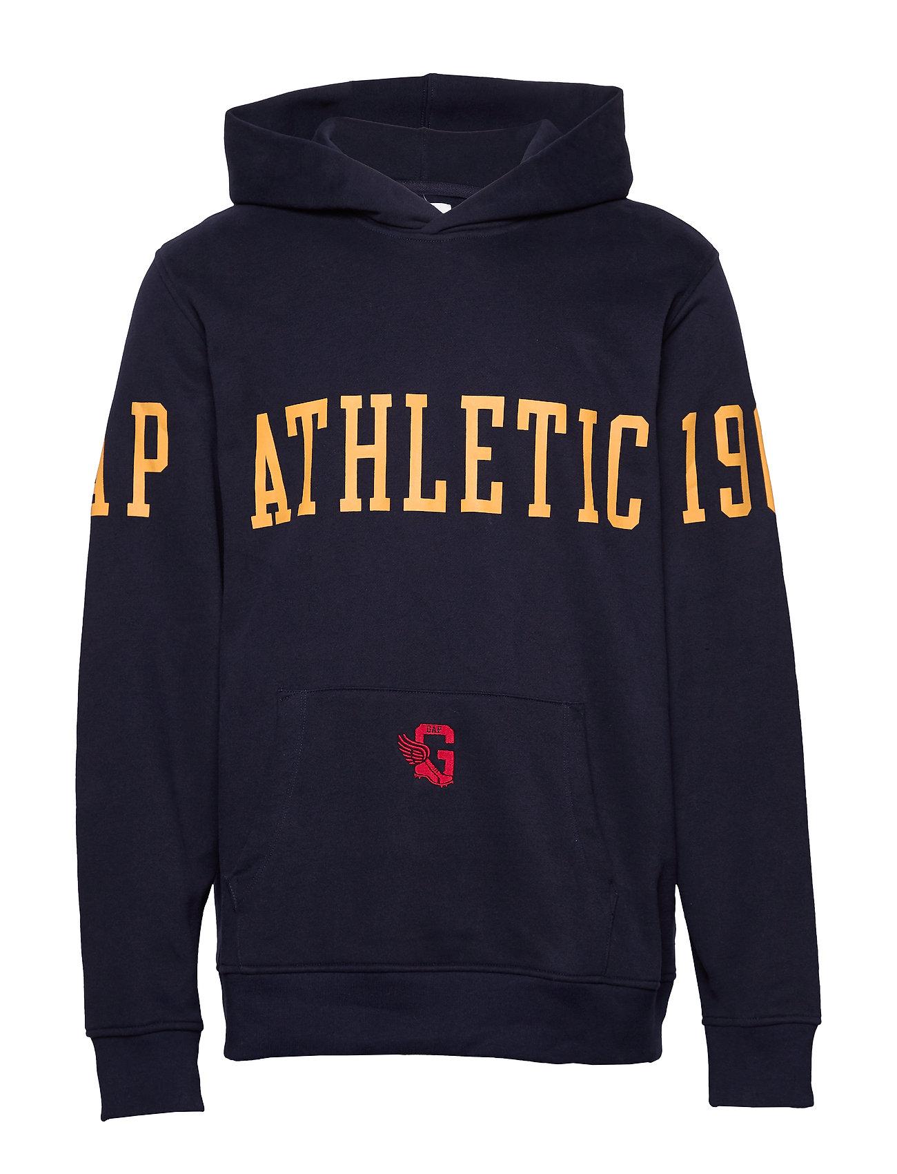 GAP Gap Athletic Logo Hoodie - TAPESTRY NAVY