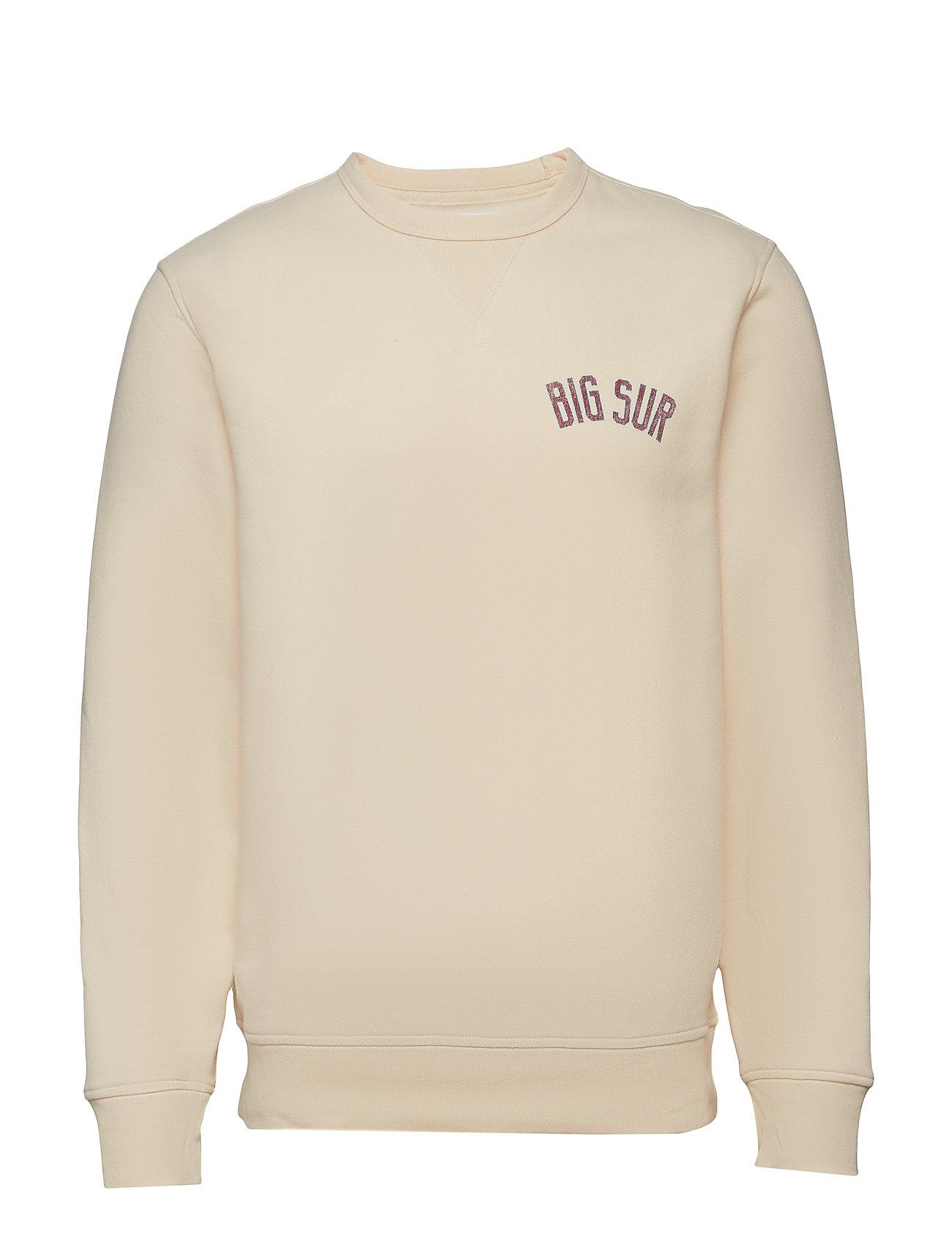 GAP Big Sur Crewneck Sweatshirt - UNBLEACHED WHITE