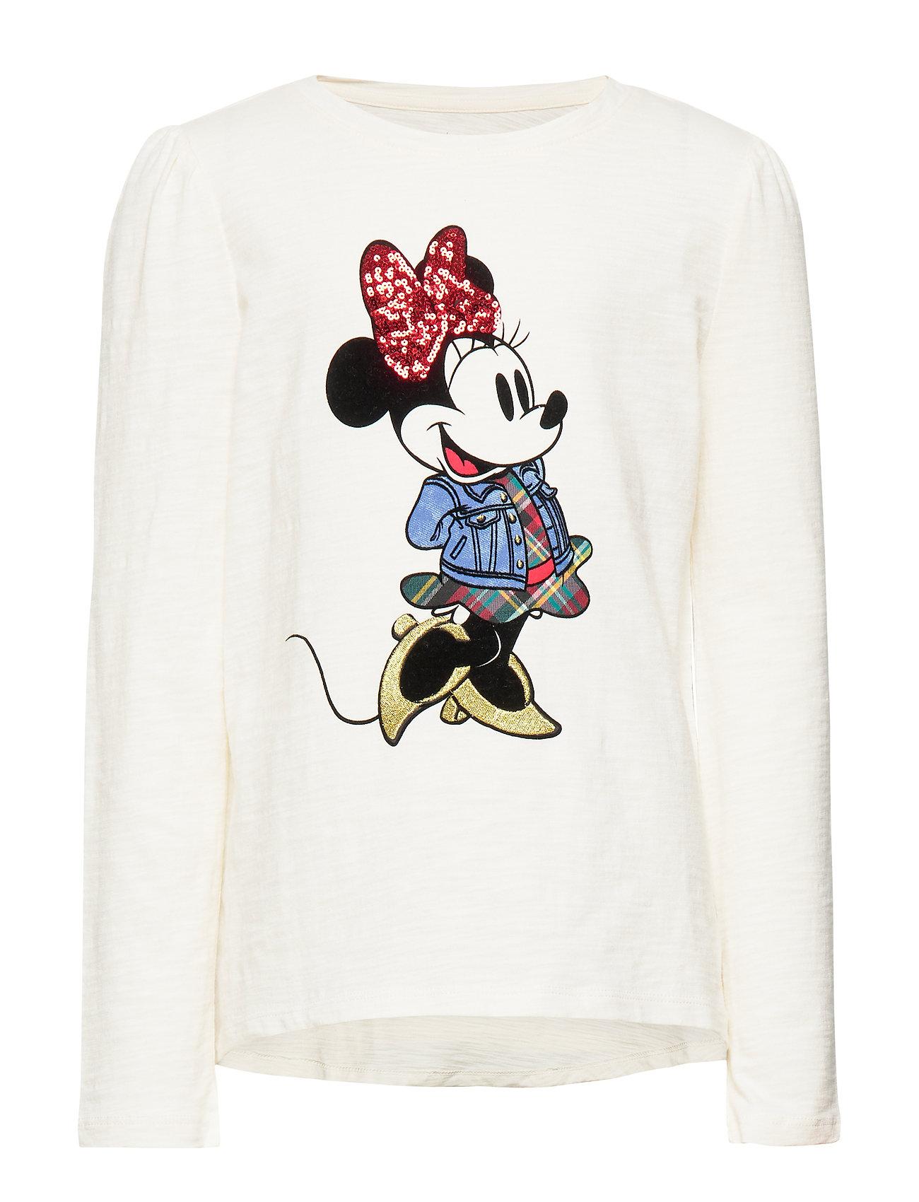 GAP GapKids | Disney Minnie Mouse T-Shirt - IVORY FROST