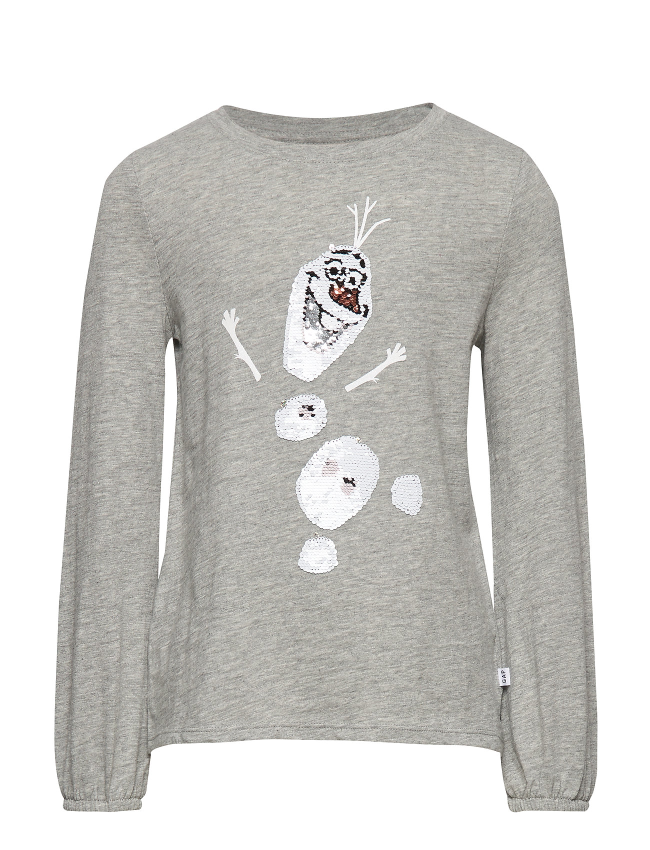 GAP GapKids   Disney Frozen 2 Sequin T-Shirt - B10 GREY HEATHER