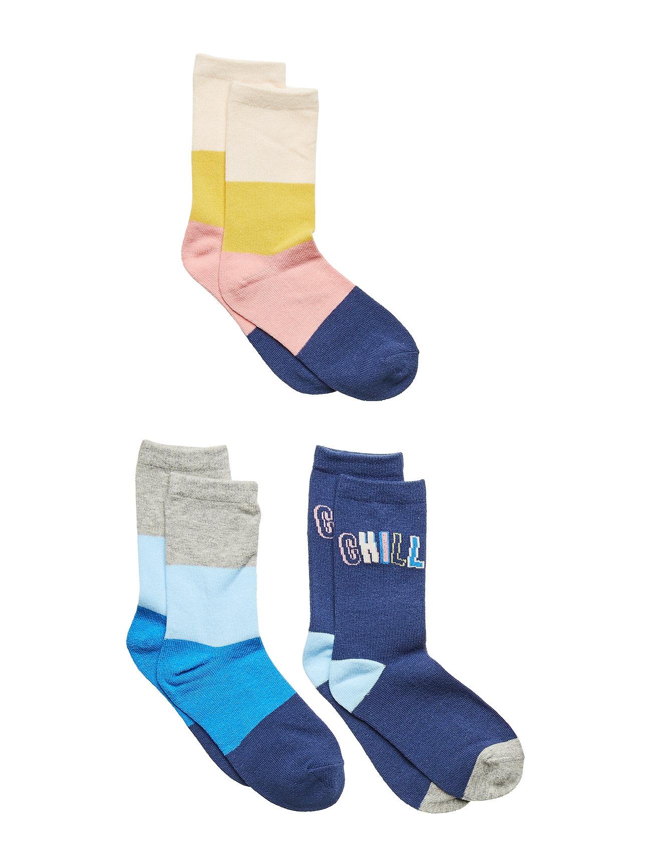 GAP Kids Chill Crew Socks (3-Pack) - MULTI