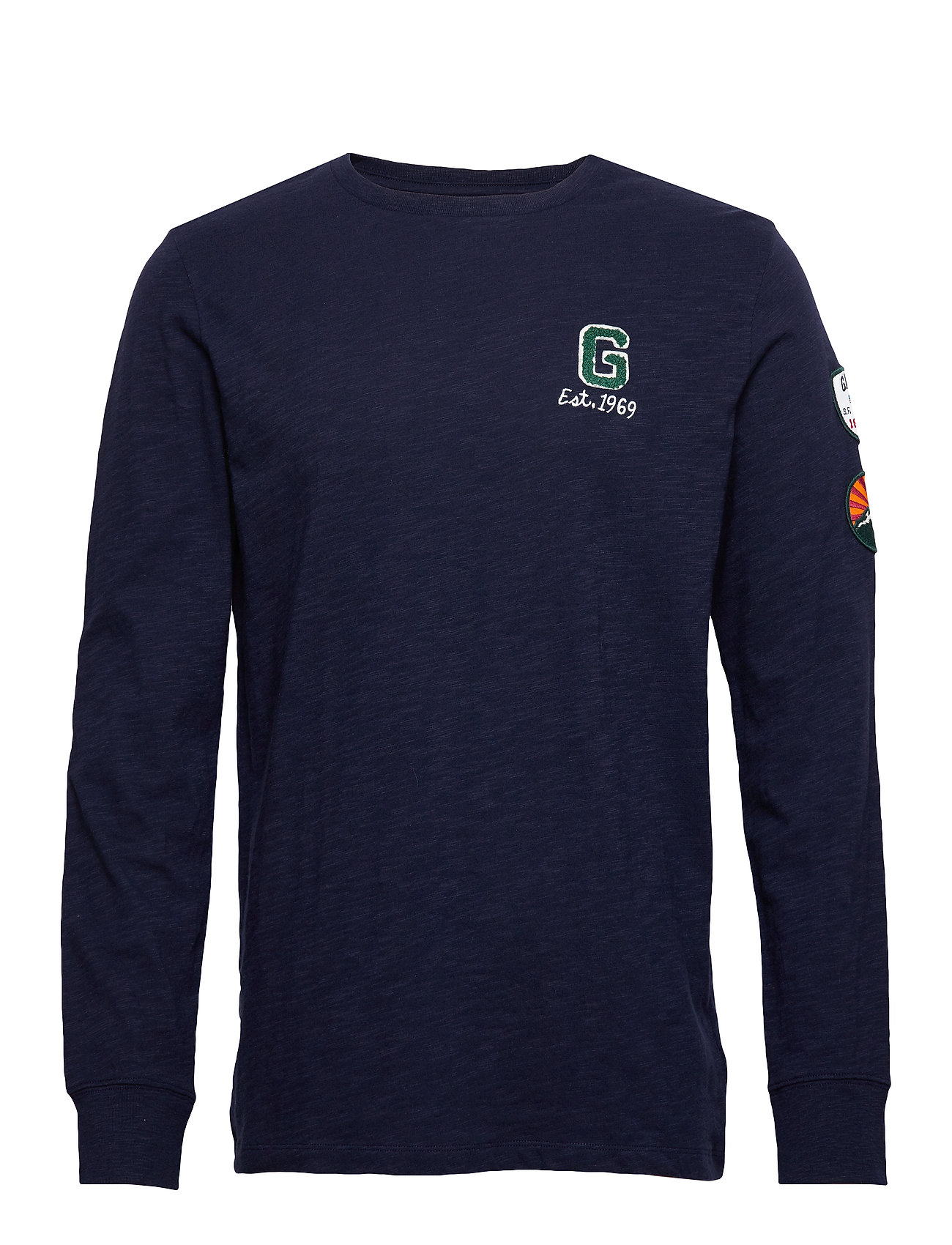 GAP LS G PATCH T - TAPESTRY NAVY