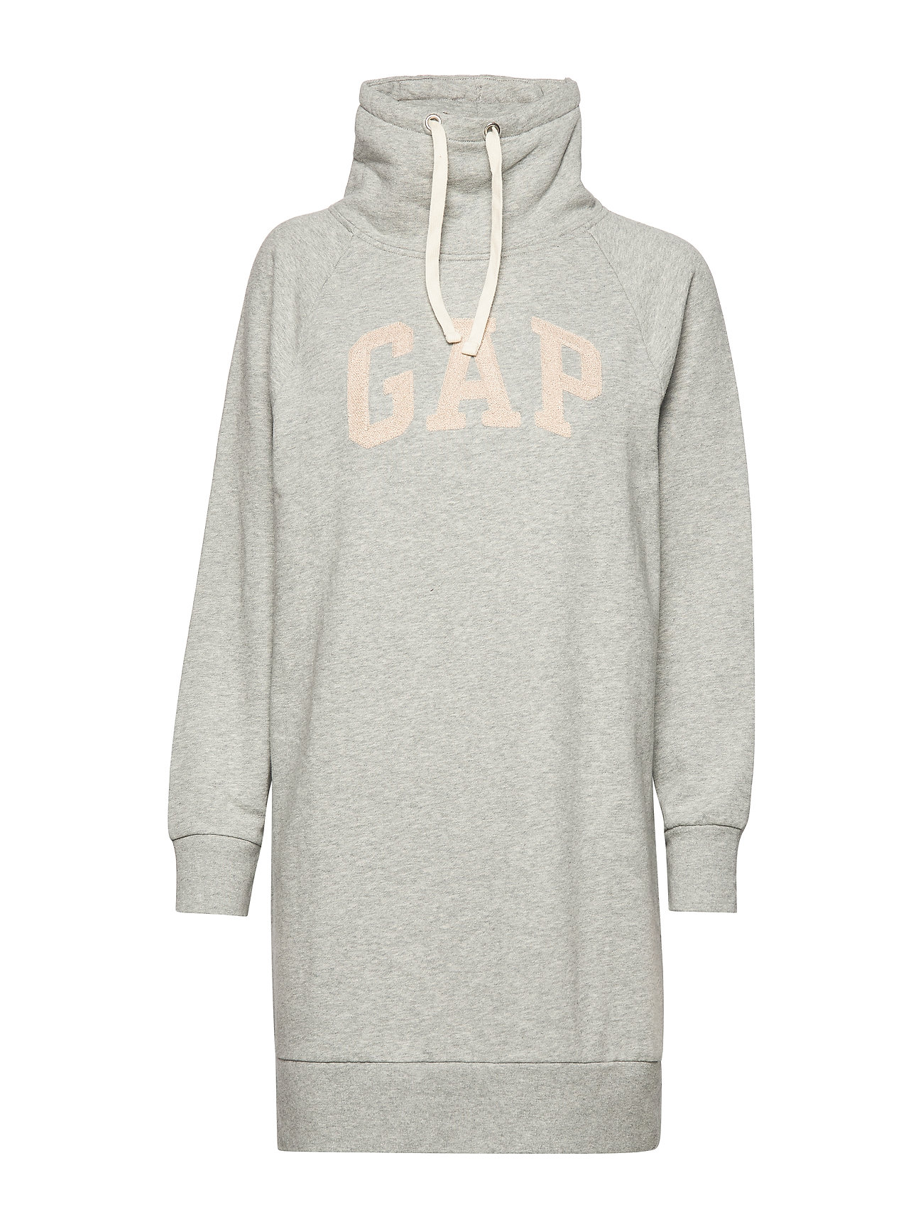 GAP GAP LUREX EMB FNL DRESS - B10 GREY HEATHER