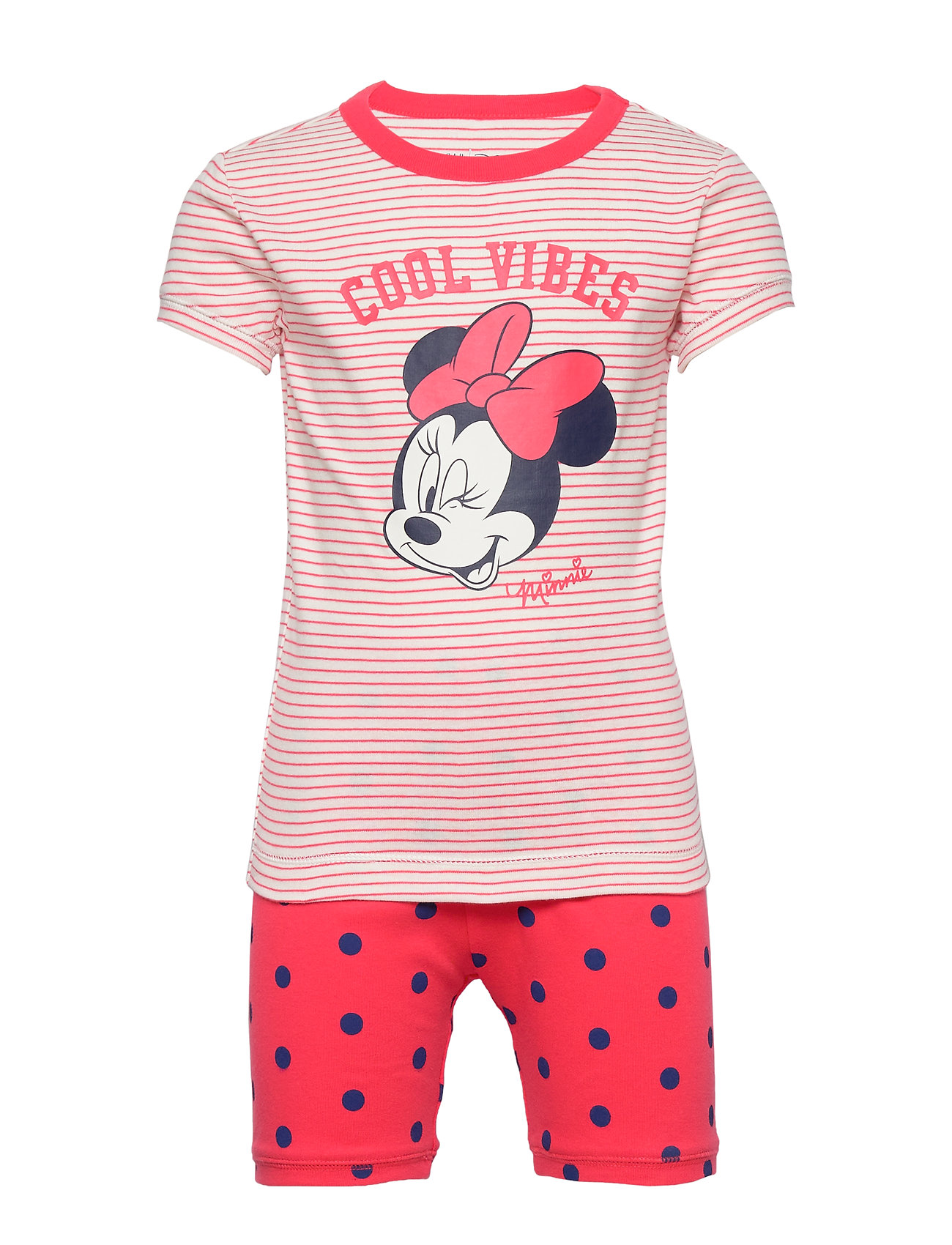 GAP GapKids | Disney Minnie Mouse PJ Set - MILK ZEBRA