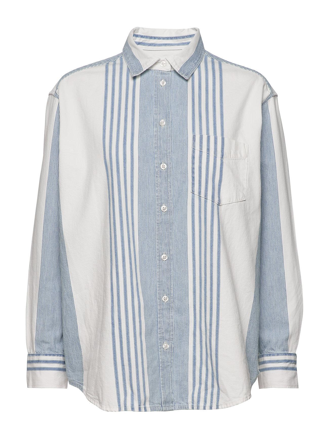 Image of The Big Shirt Langærmet Skjorte Blå GAP (3406259403)
