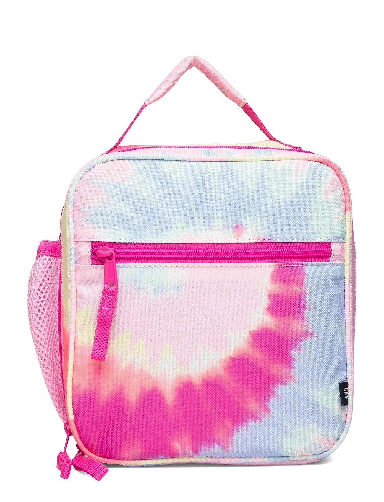 Image of Kids Tie-Dye Lunchbag Accessories Lunch Boxes Lyserød GAP (3439041497)