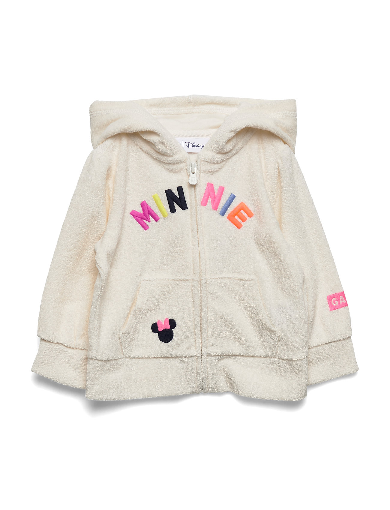 Image of Babygap | Disney Minnie Mouse Hoodie Hoodie Trøje Creme GAP (3412651433)