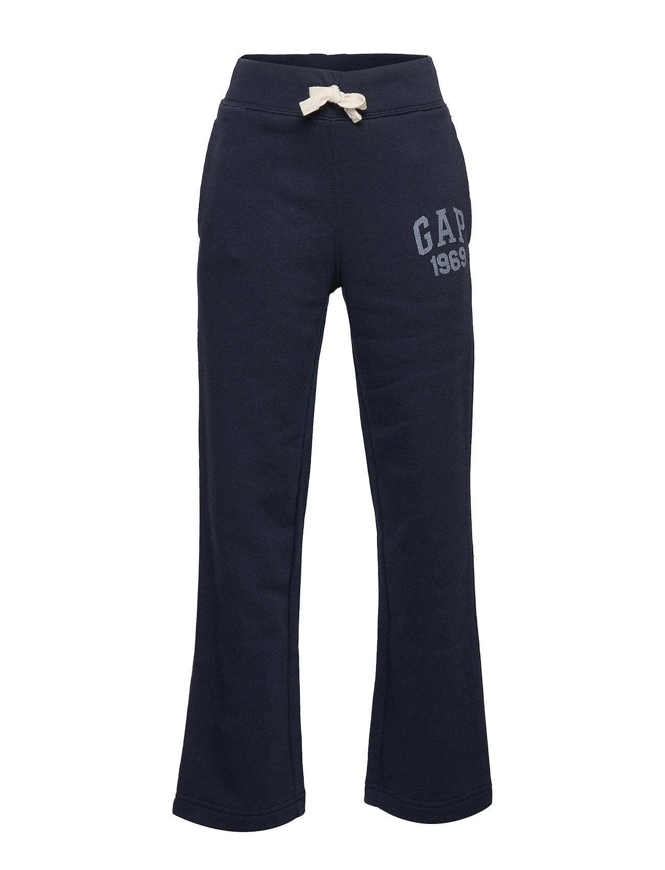 GAP Kids Gap Logo Pants in Fleece - BLUE GALAXY