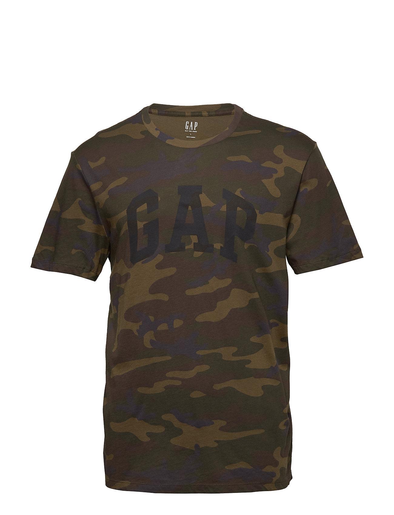 GAP Logo Camo Print T-Shirt - CAMO PRINT
