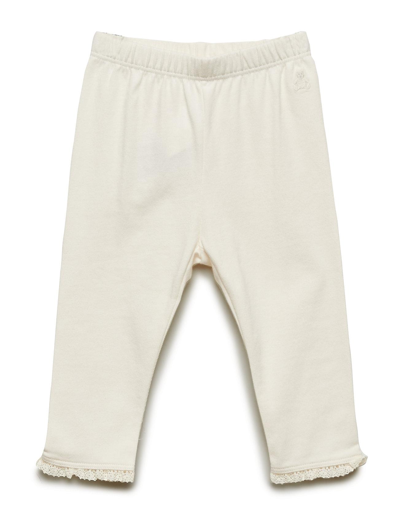 Image of Baby Lace-Trim Leggings Bukser GAP (3224972357)