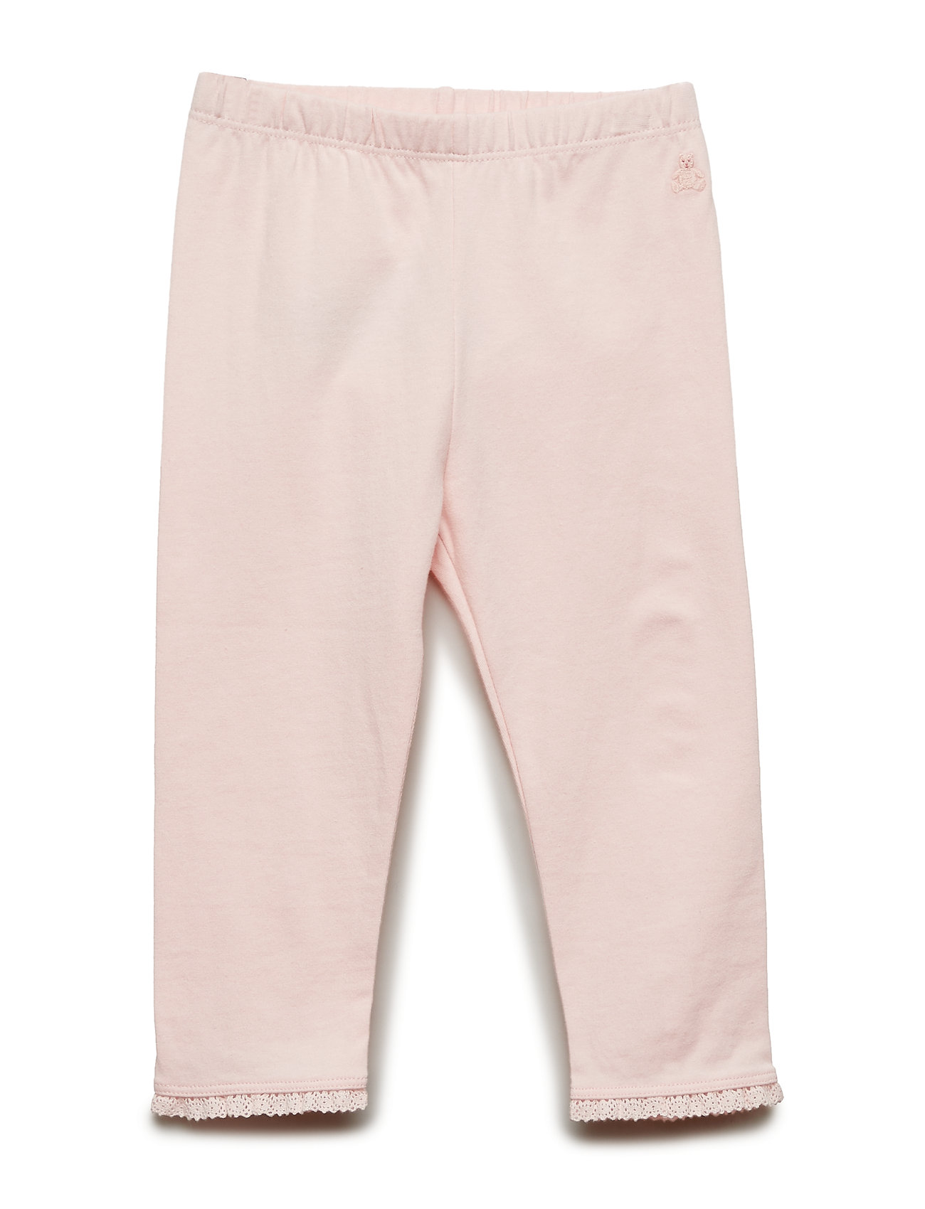 Image of Baby Lace-Trim Leggings Bukser Lyserød GAP (3176006727)